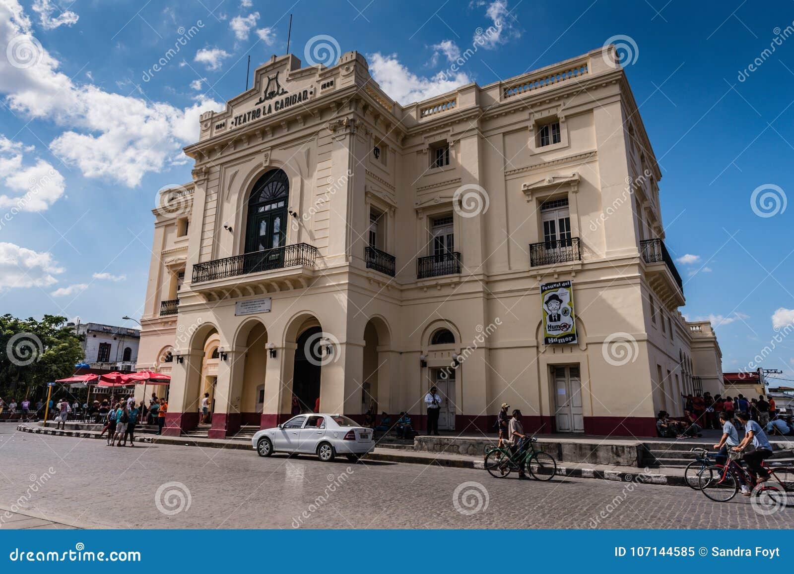 Teatro los angeles Caridad, Santa Clara -, Kuba