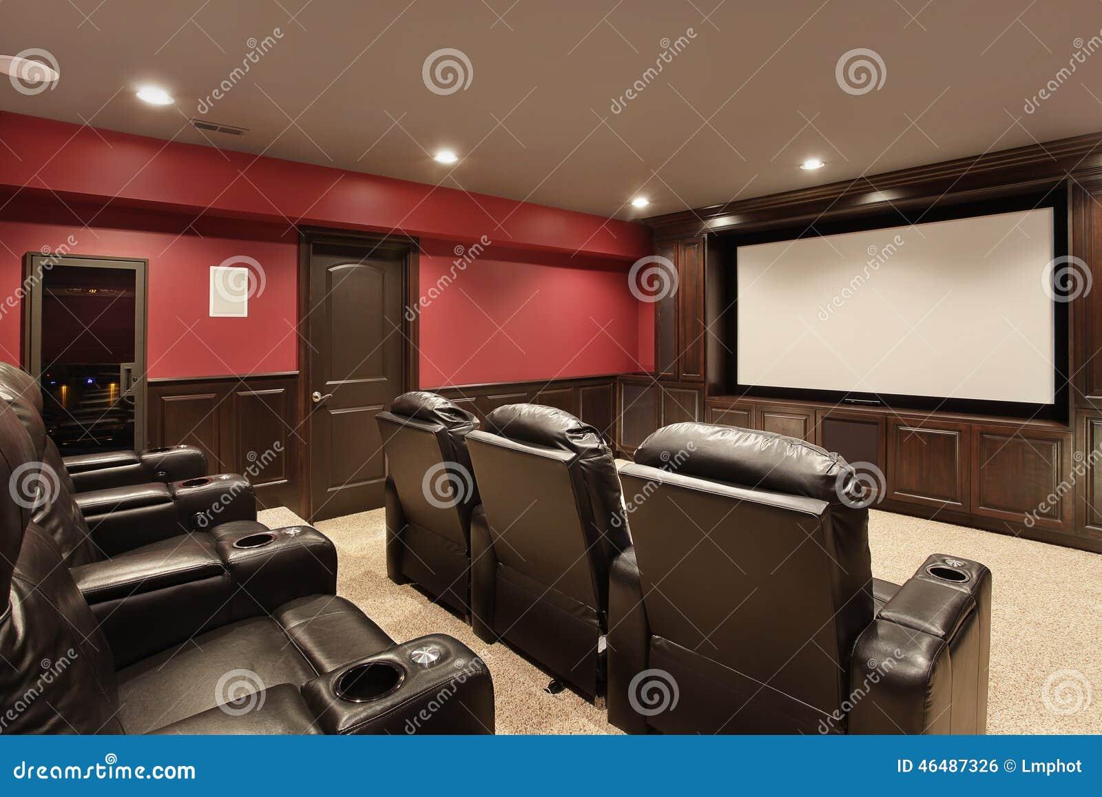 Teatro na HOME luxuosa