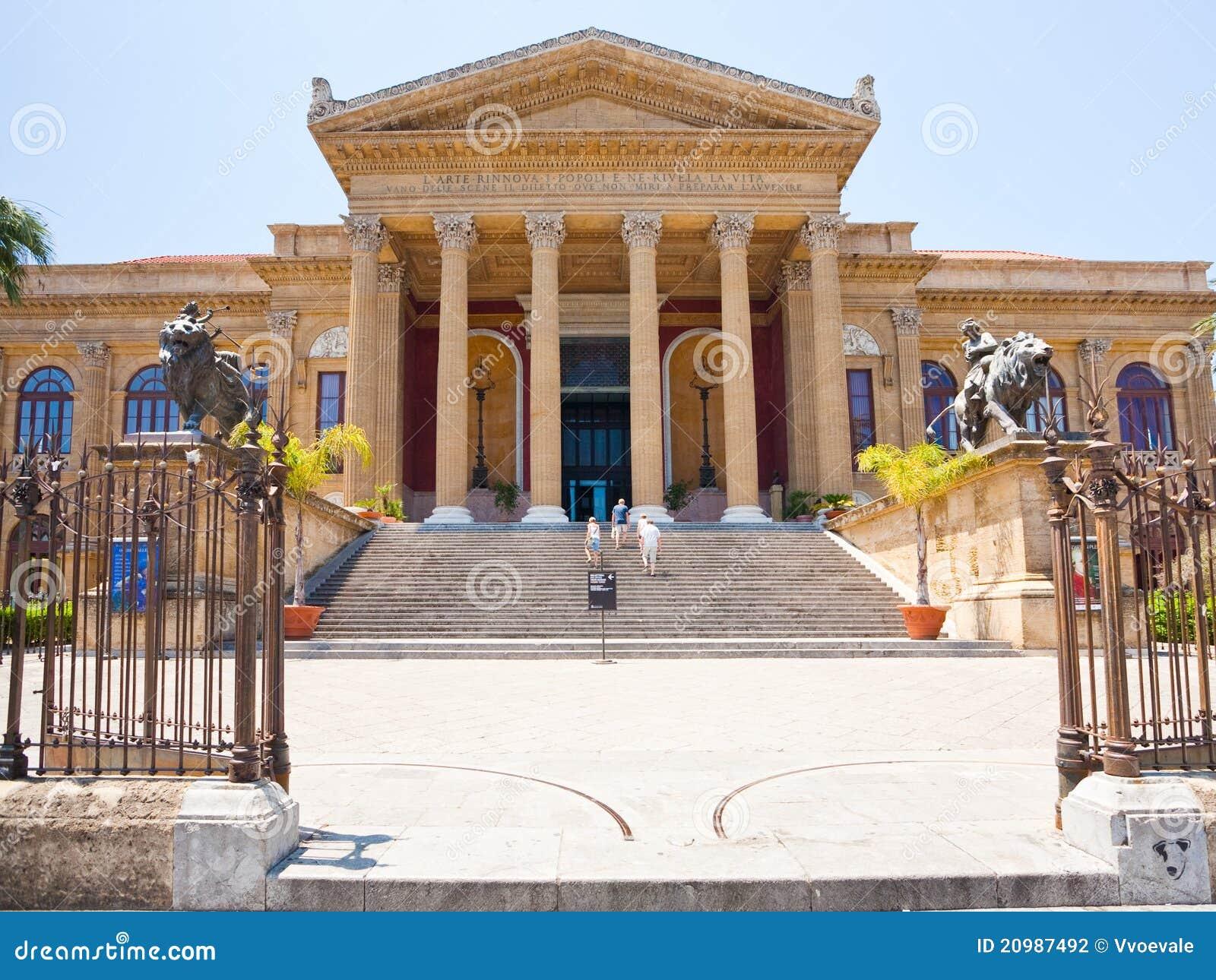 Обои опера, Катания, ночь, Театр Массимо Беллини, дома, сицилия. Города foto 13