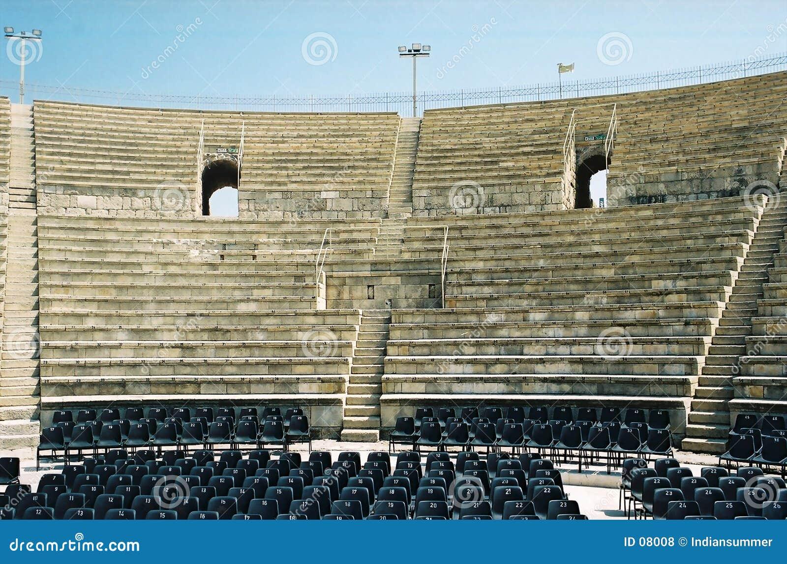 Teatro romano antigo