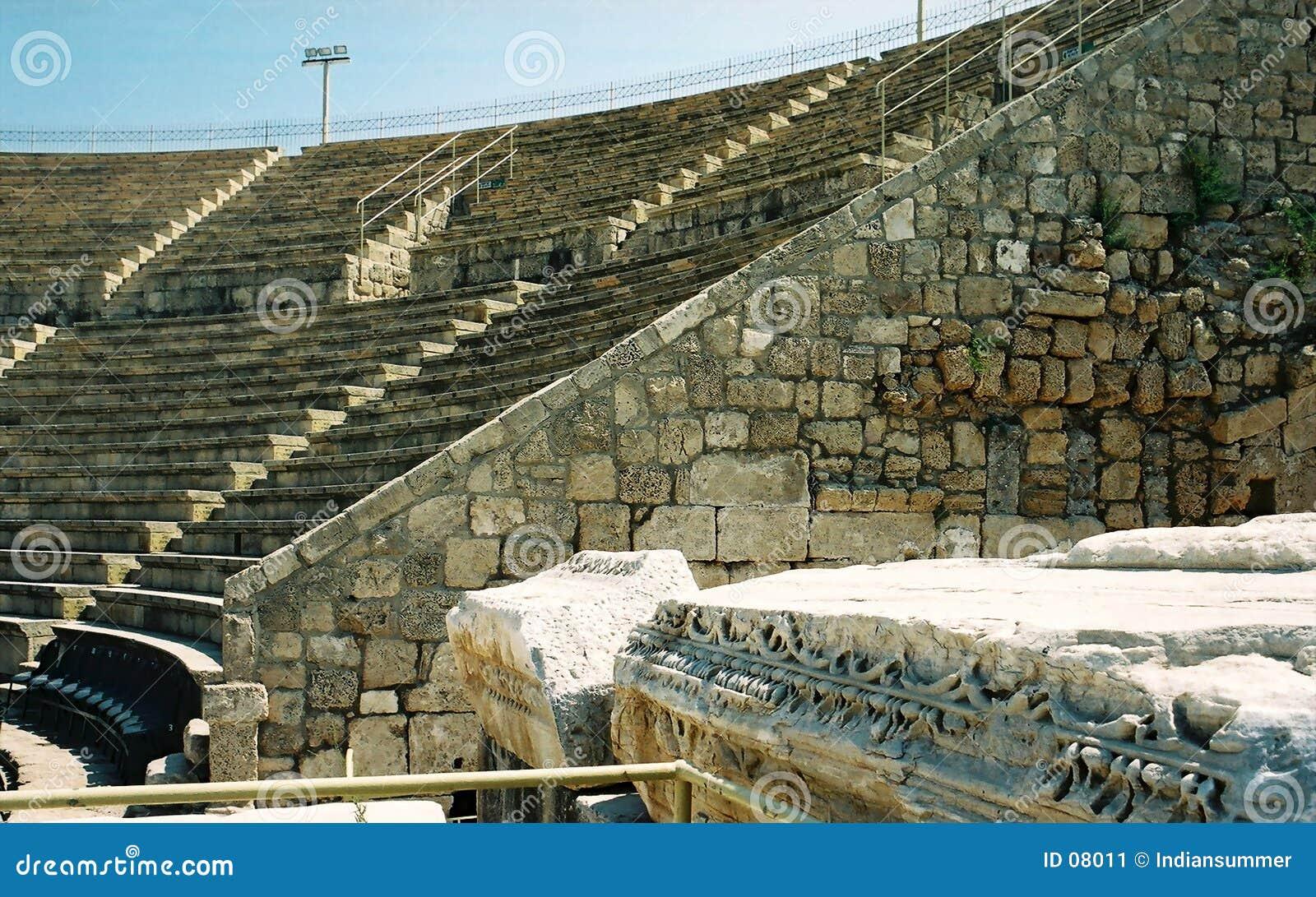 Teatro romano antiguo