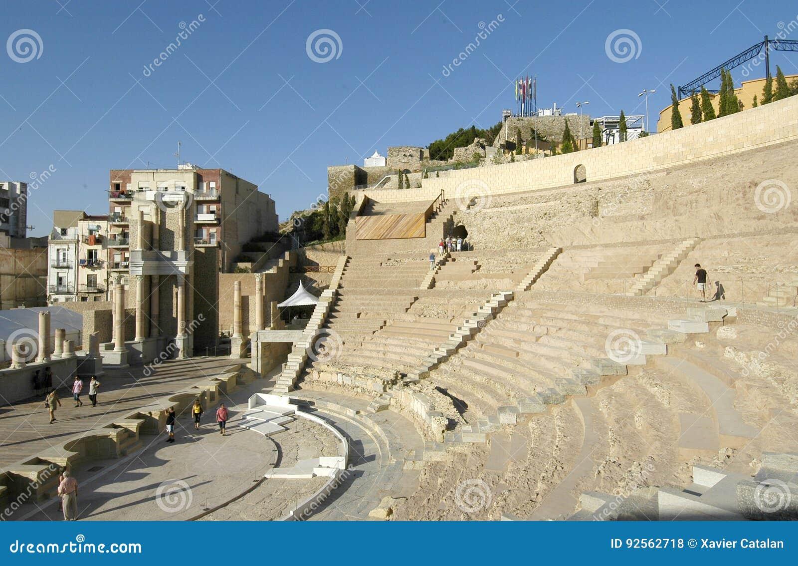 Teatro romano di Cartagine, Spagna