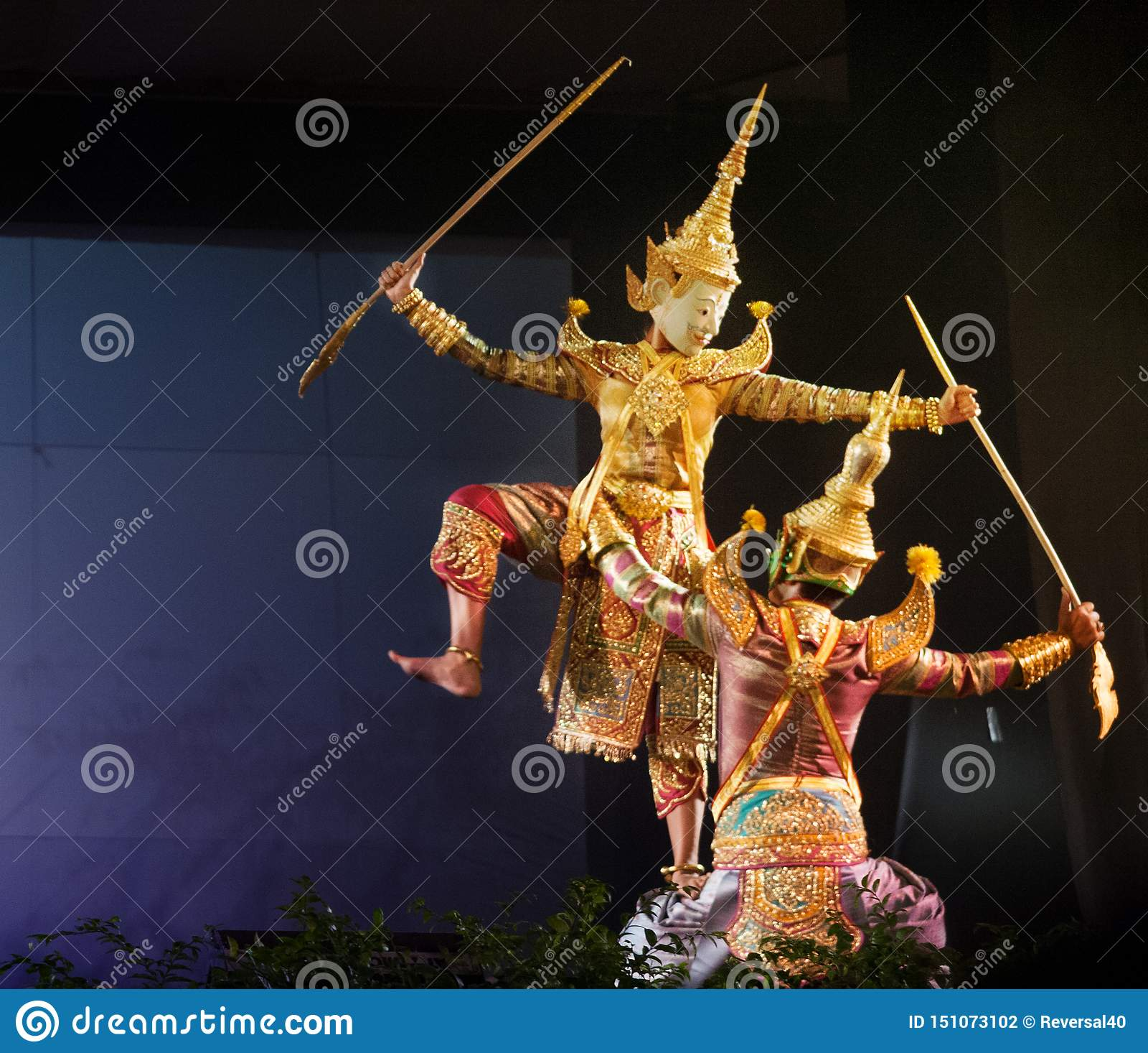 Teatro tailandese del burattino