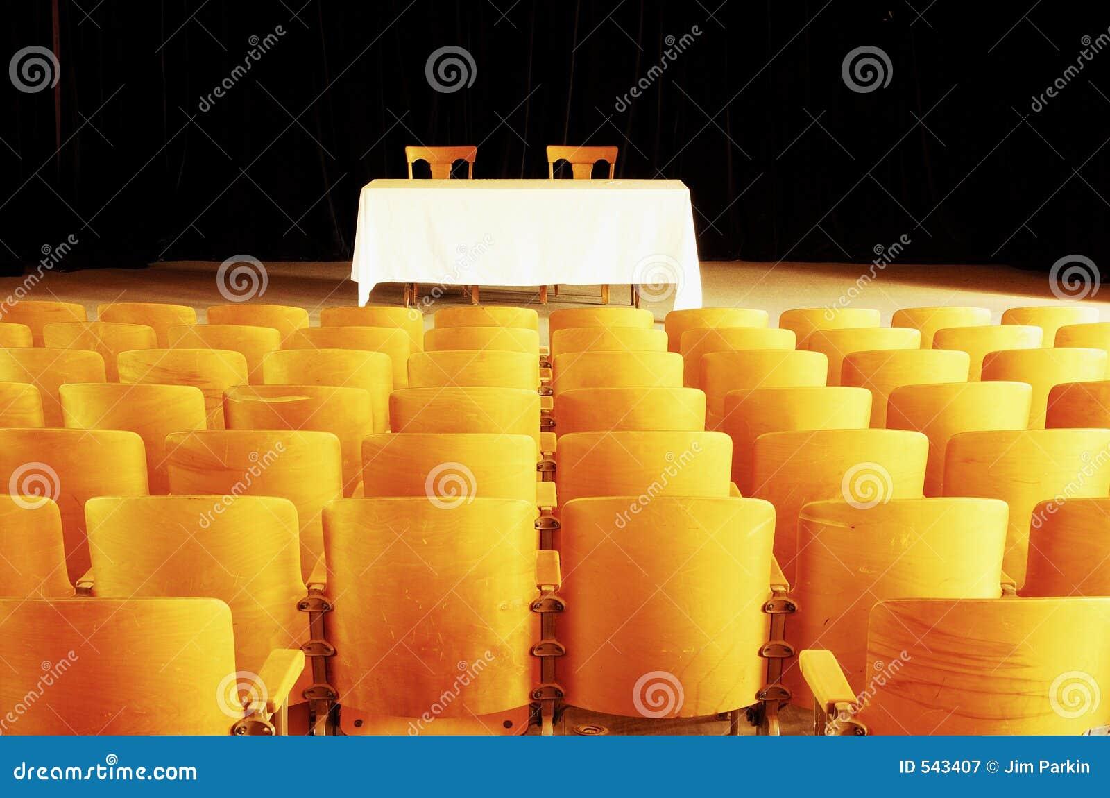 Teatro vazio 3