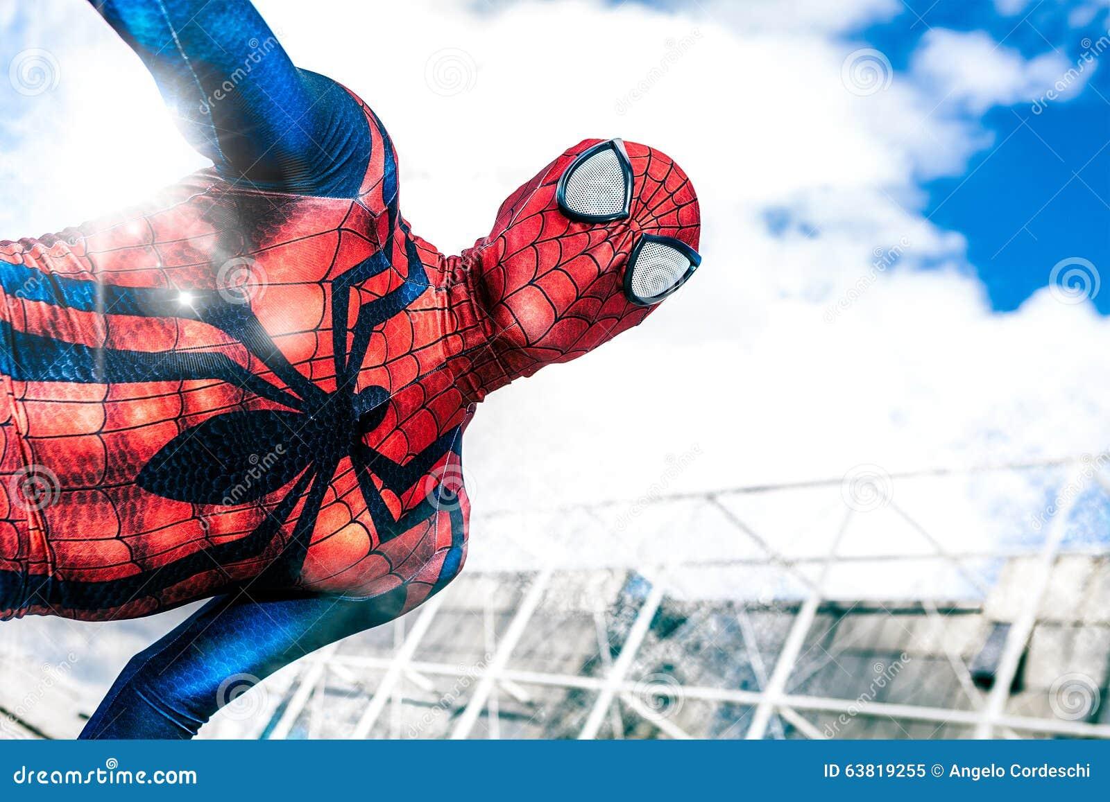 Tebeos de las celebridades Super héroe de los tebeos de la maravilla del hombre araña Hombre araña