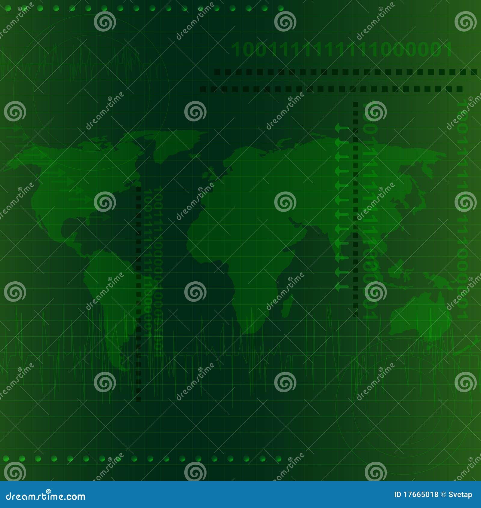 Tech Background Stock Vector  Illustration Of Communication