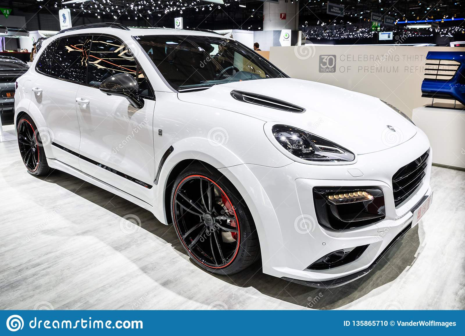 Techart Porsche Cayenne Turbo S Magnum Suv Car Editorial Image Image Of Motor Automobile 135865710