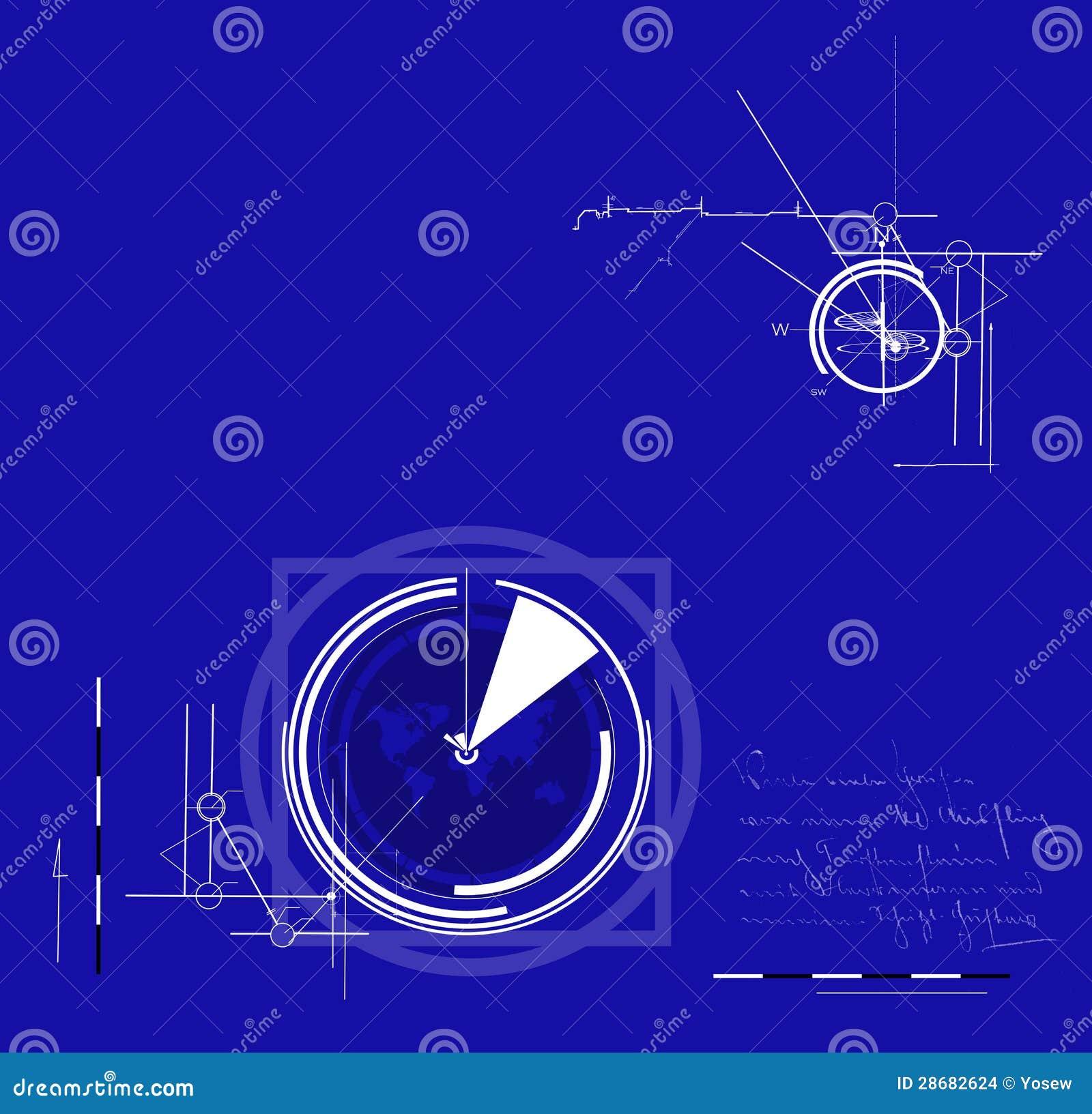 Technical Background Stock Illustration  Illustration Of