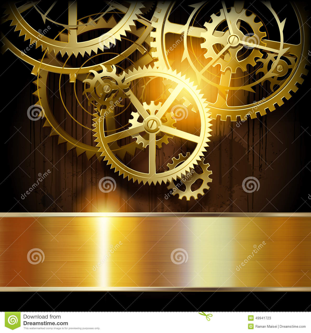 Technical Background Stock Vector