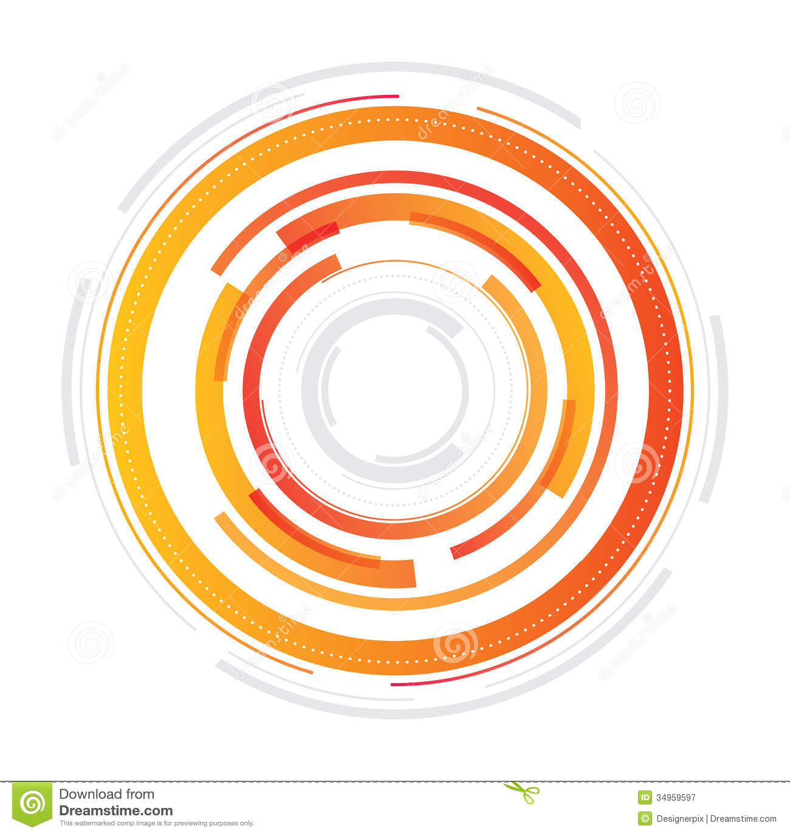abstract design circle sector - photo #1