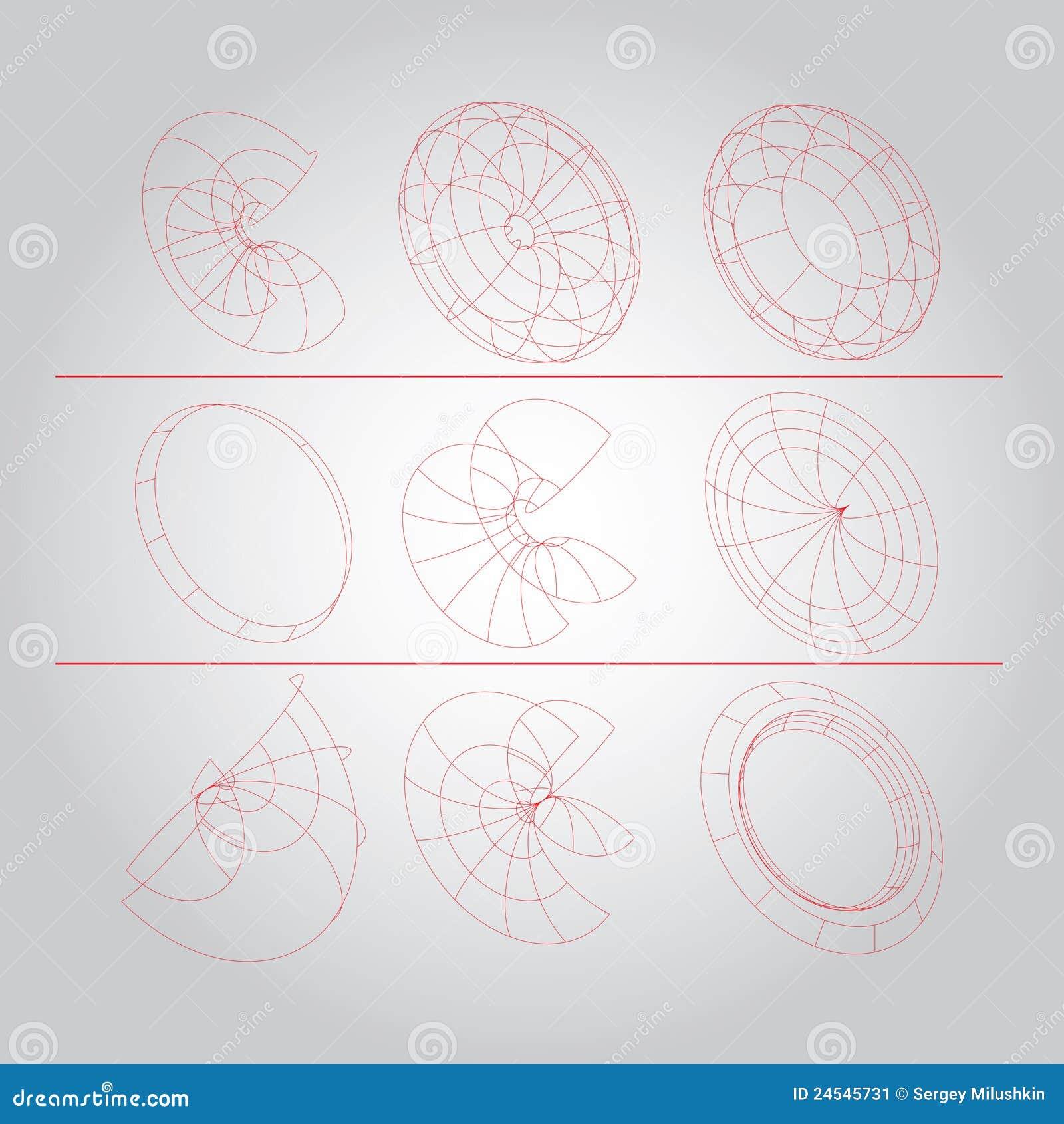 Technical Cover Stock Illustration  Illustration Of