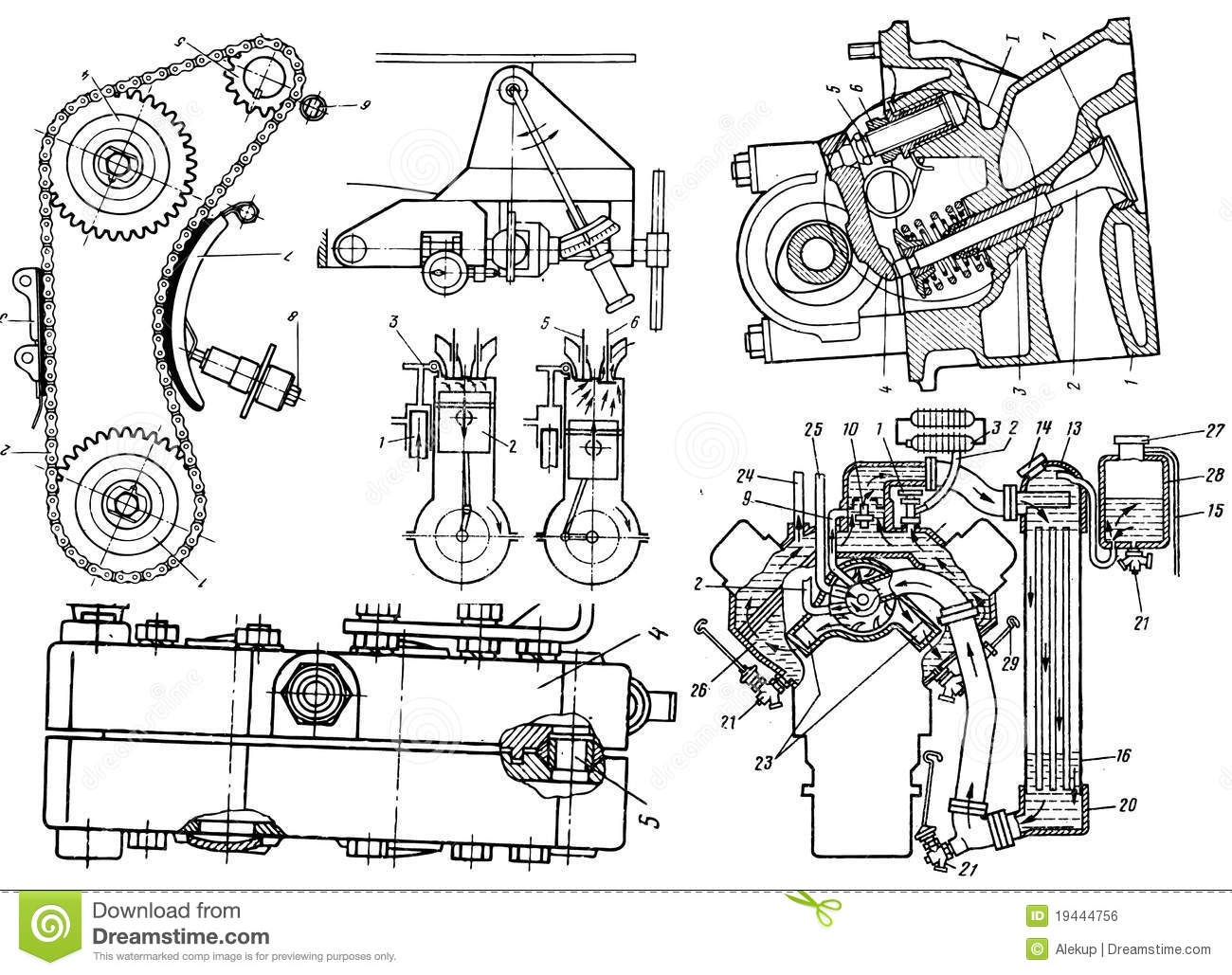 Technical Drawing Royalty Free Stock Image Image 19444756