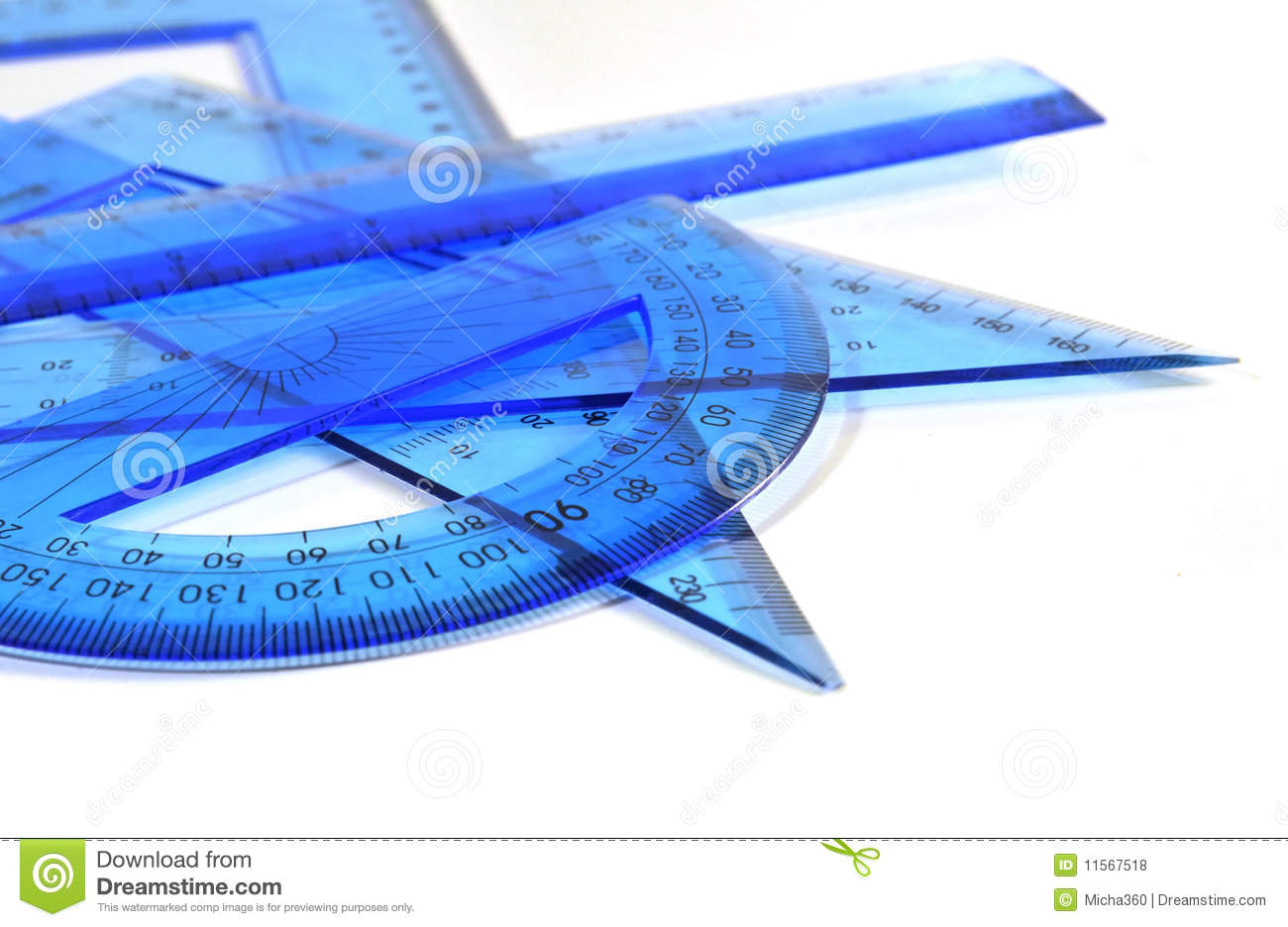 Technical drawing tools stock photo  Image of millimeter