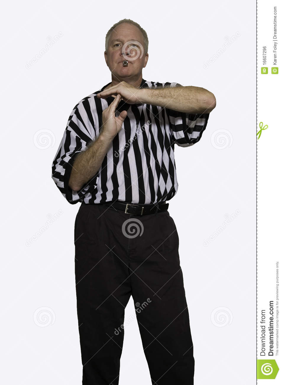 royalty free stock image technical foul image 16607296