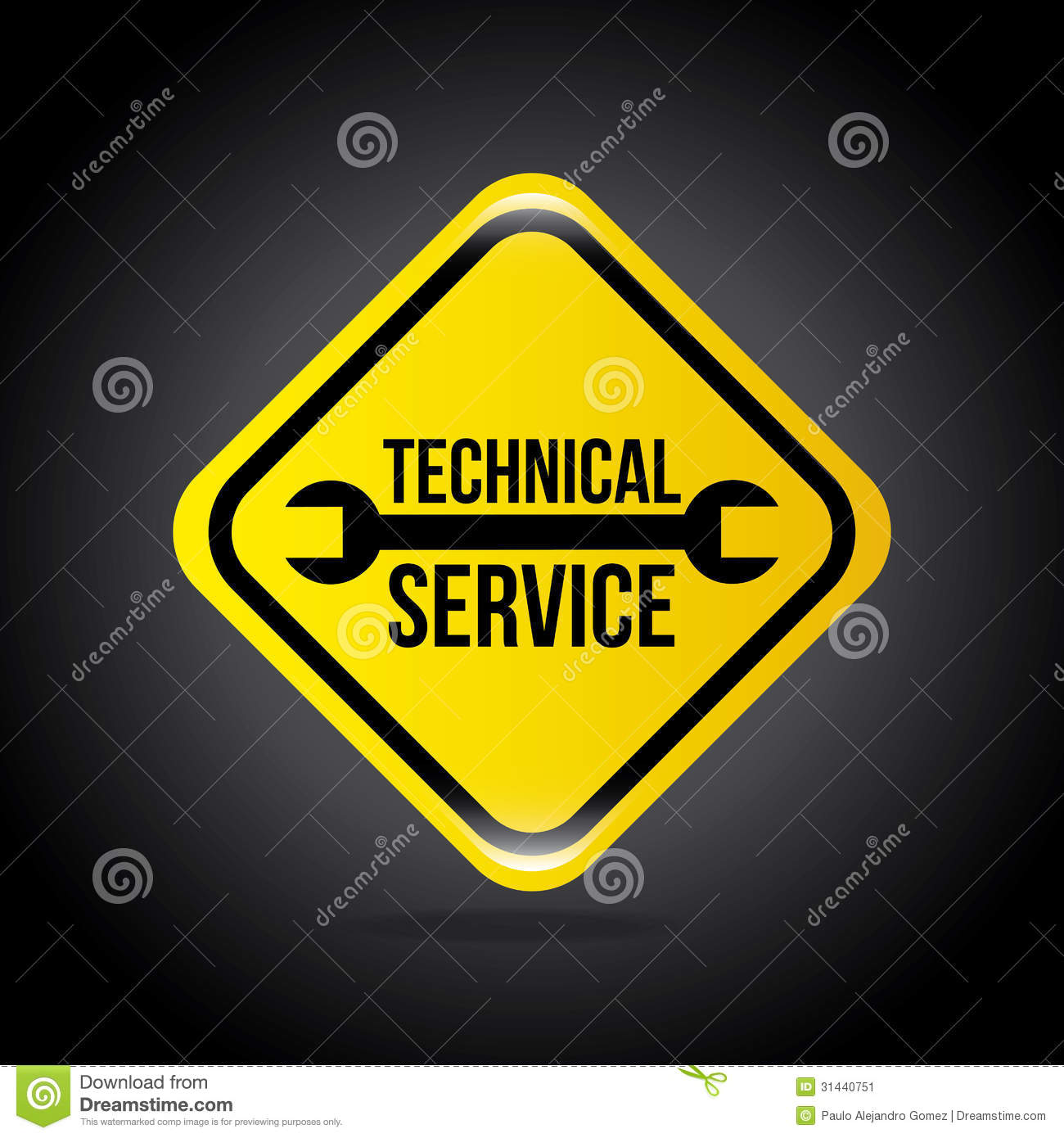 Technical Service Stock Vector  Illustration Of Sevice