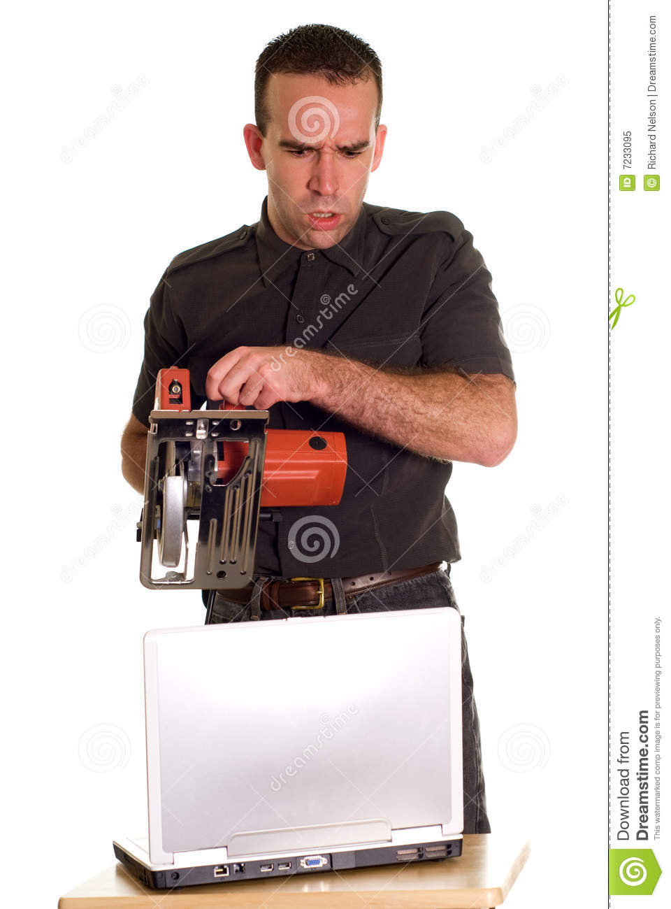 Technical Support stock image Image of crazy