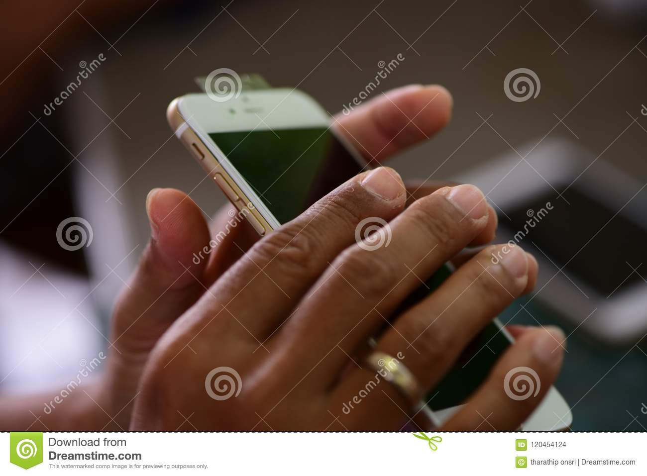 Repairing mobile phones and tablets by skilled technicians.