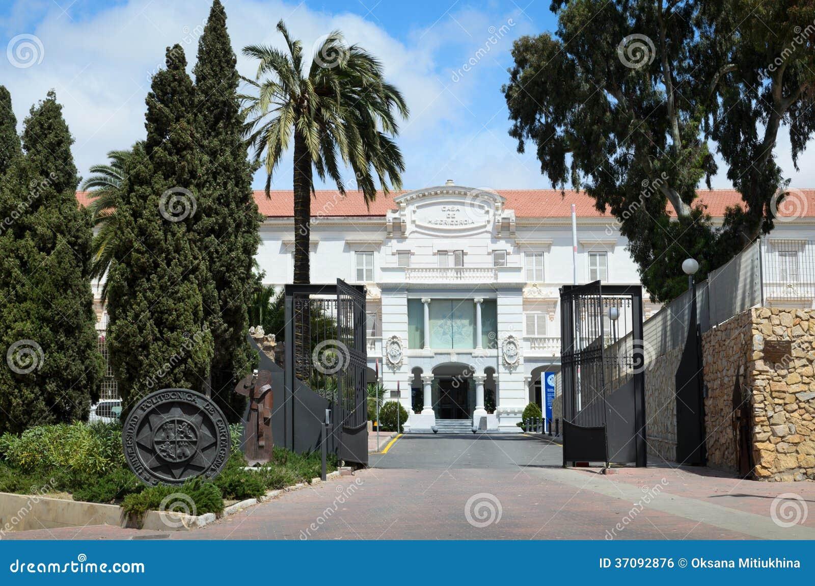 Download Techniczny Uniwersytet Cartagena Zdjęcie Stock - Obraz złożonej z szkoła, verdure: 37092876