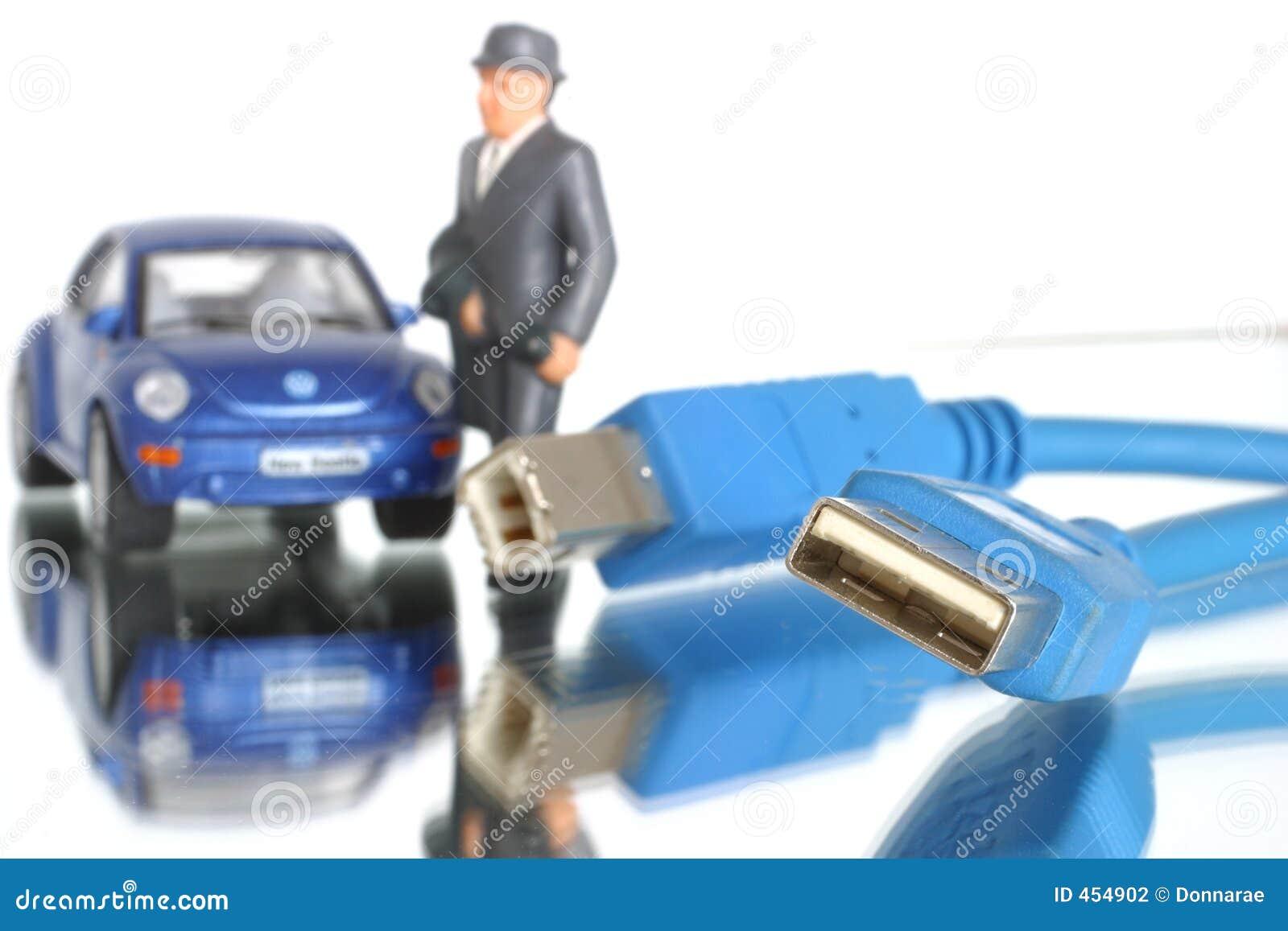 Technition för hjälp för connectivity för affärsdator