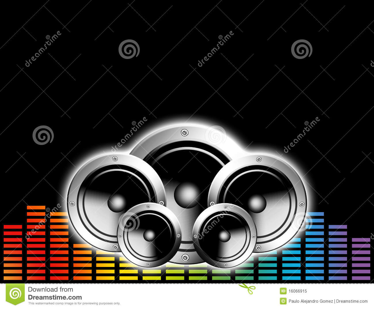 techno music background stock illustration  image of block