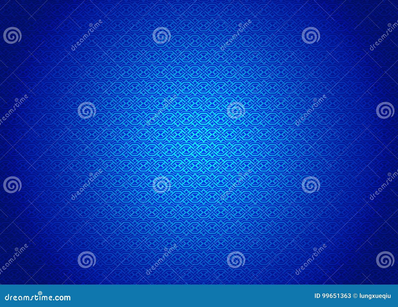 Techno, Oriental, Ornamental, Chinese, Arabic, Islamic, Blue Pattern Texture Background. Imlek, Ramadan, Festival Wallpaper.