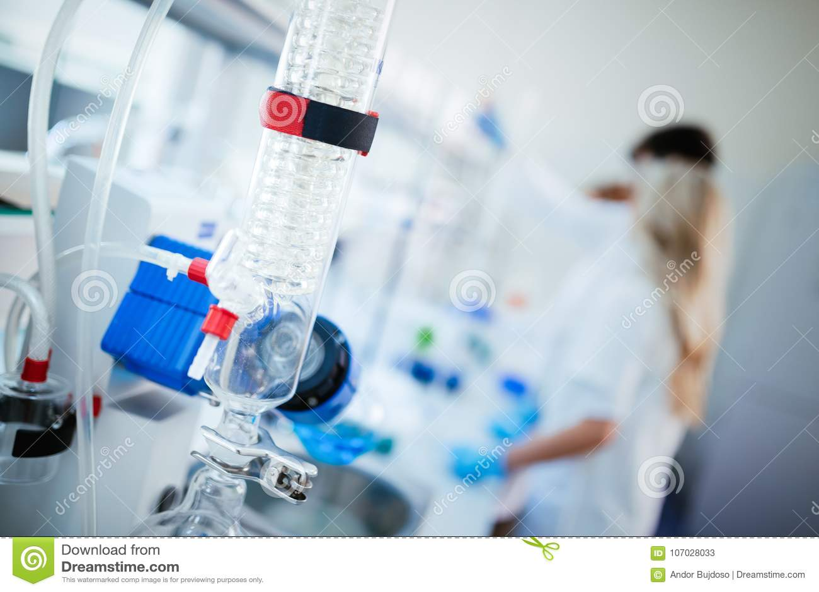 Technologie de développement, de médecine, de pharmacie, de biologie, de biochimie et de recherches de chimie