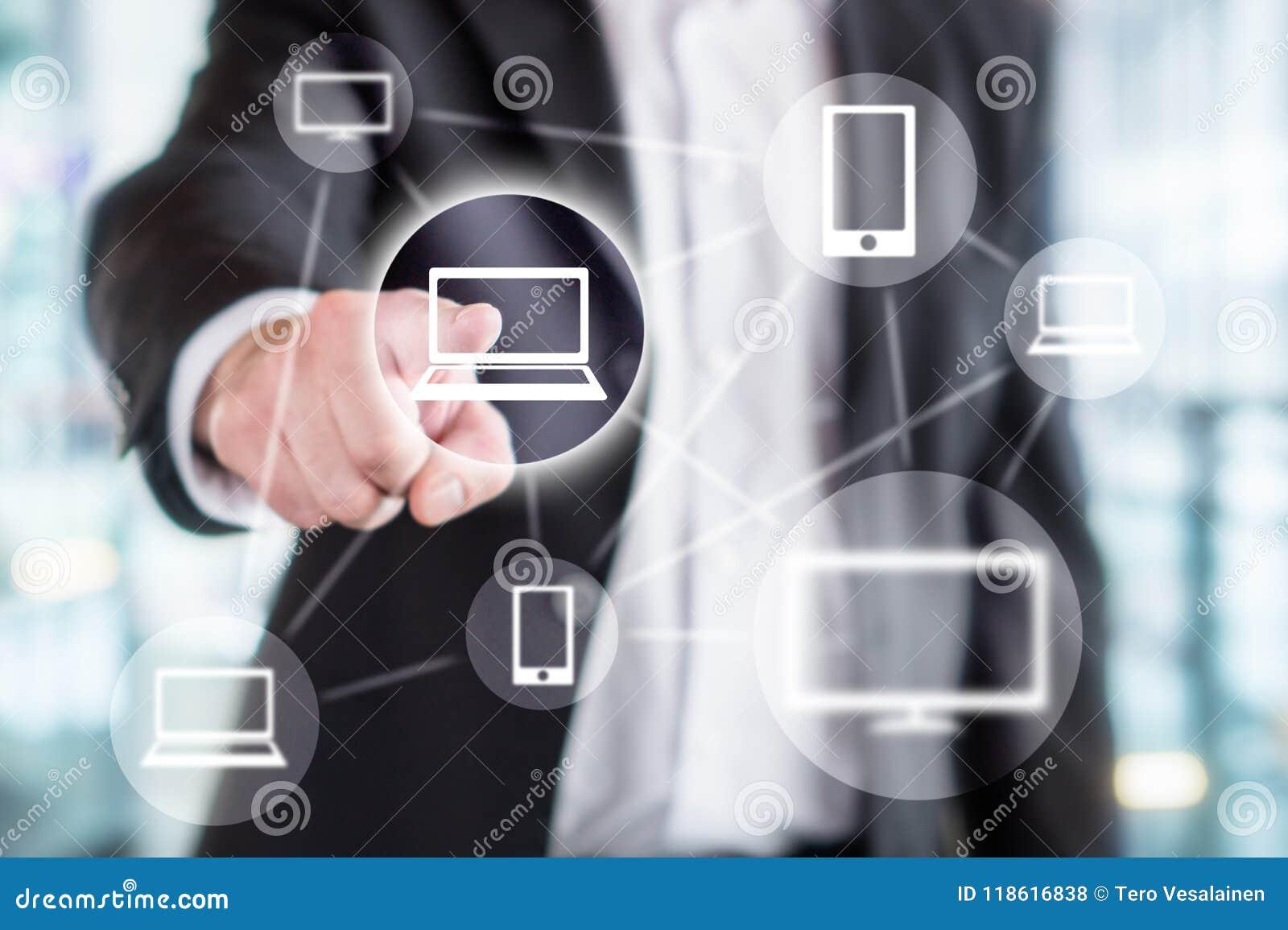 Technologie de l information globale, réseau en ligne sans fil