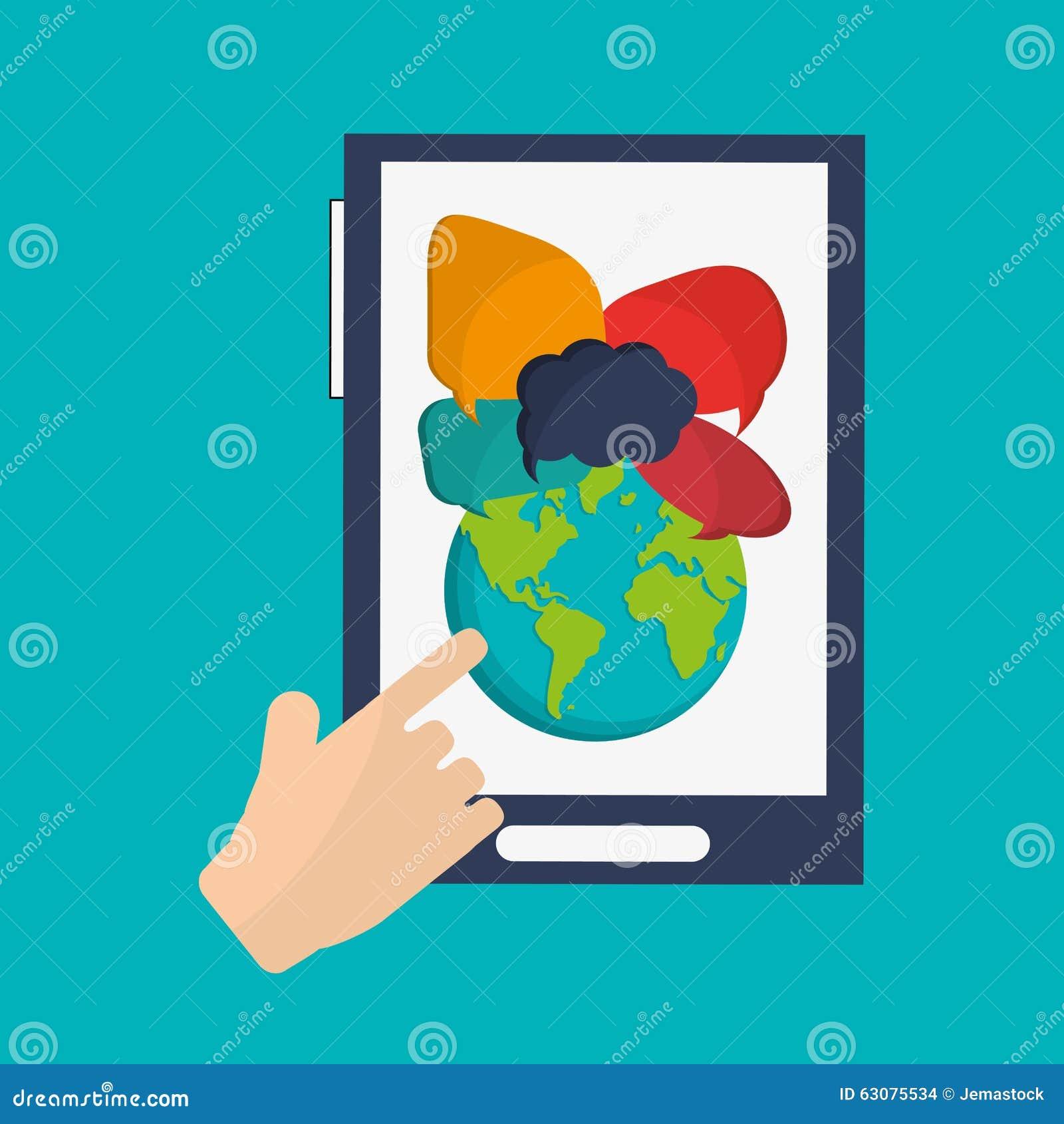 Download Technologie Et Conception D'instrument Illustration de Vecteur - Illustration du techno, réseau: 63075534
