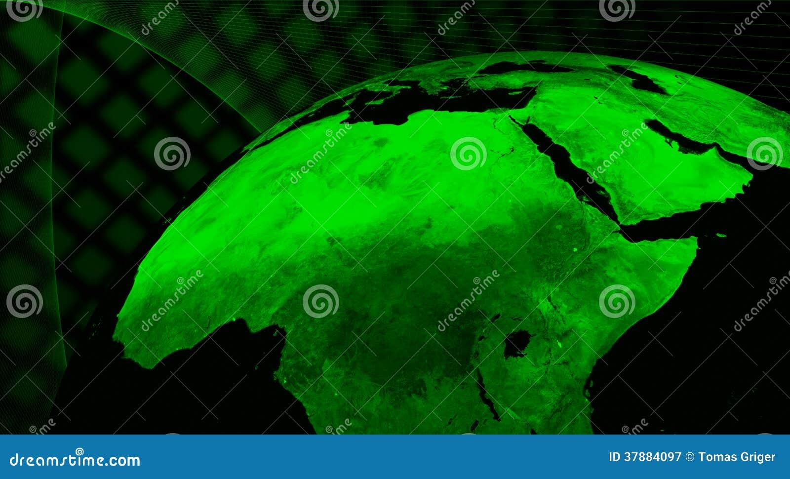 Technologieconcept de Noord- van Afrika