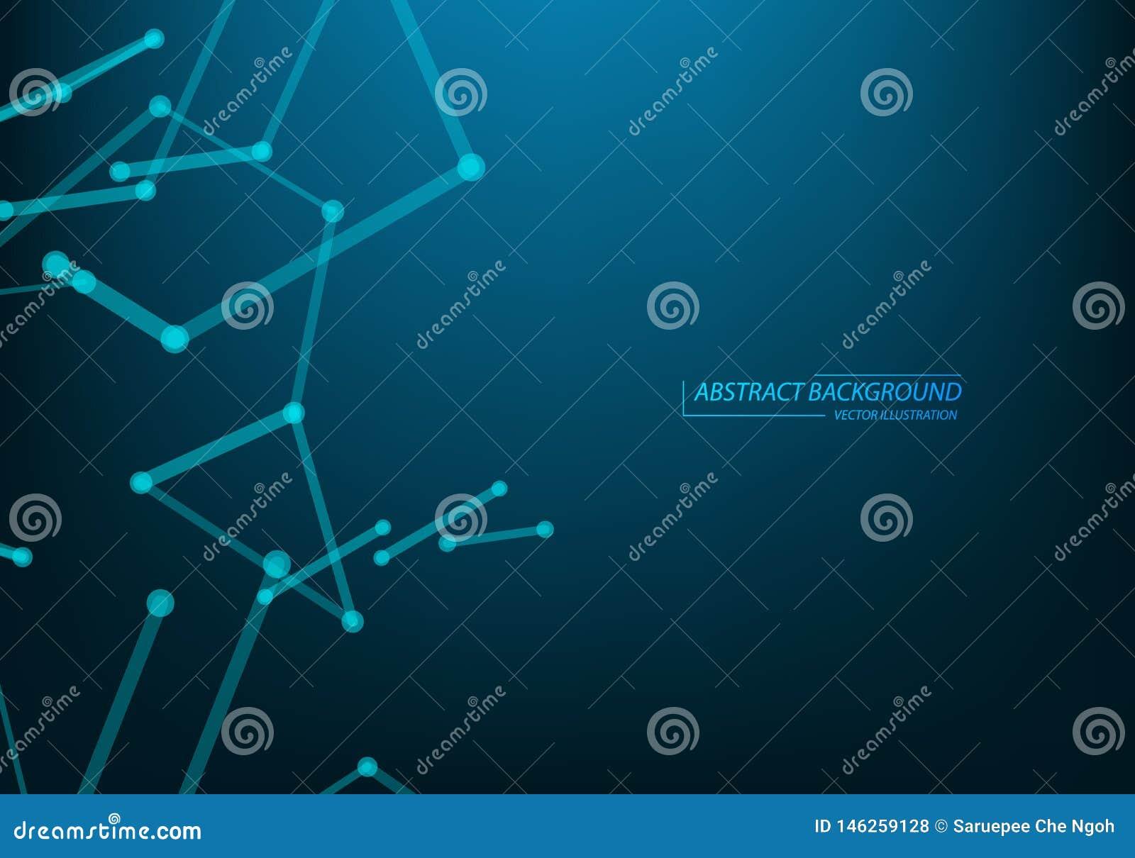 Technologii i nauki t?o Abstrakcjonistyczna sie? i guzki Biznesowa szablonu sztandaru pokrywa mapy t?a oko medical optometrist Pl