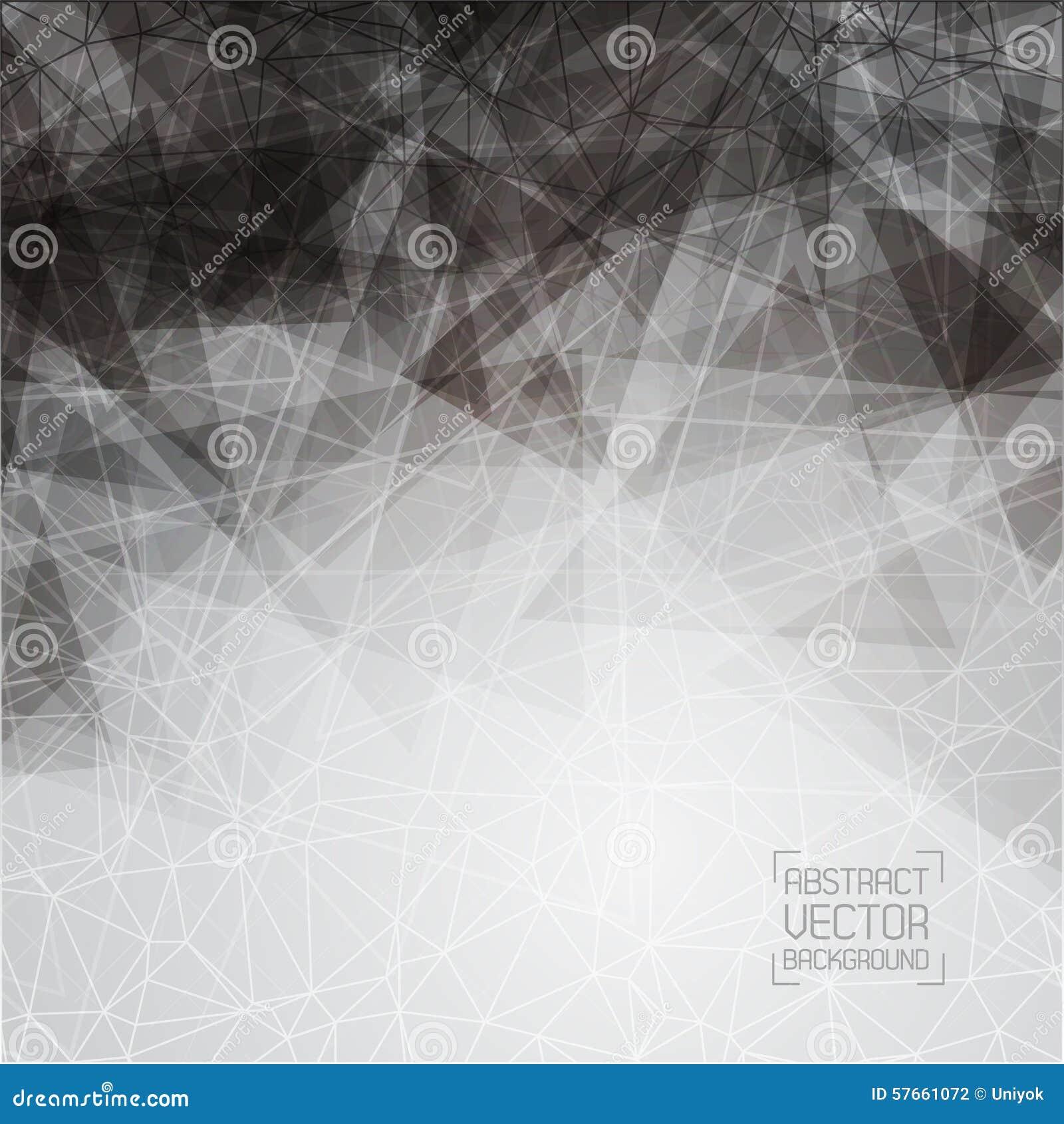 Technologische zwart-wit achtergrond met een patroon