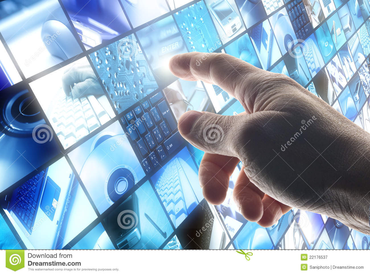 technology royalty touching hand business dreamstime
