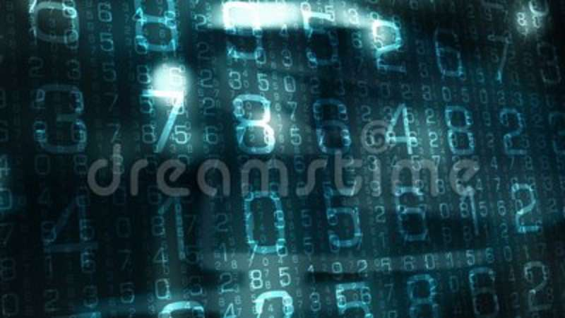 Cyberspace network creative abstract symbol, cyber security news intro