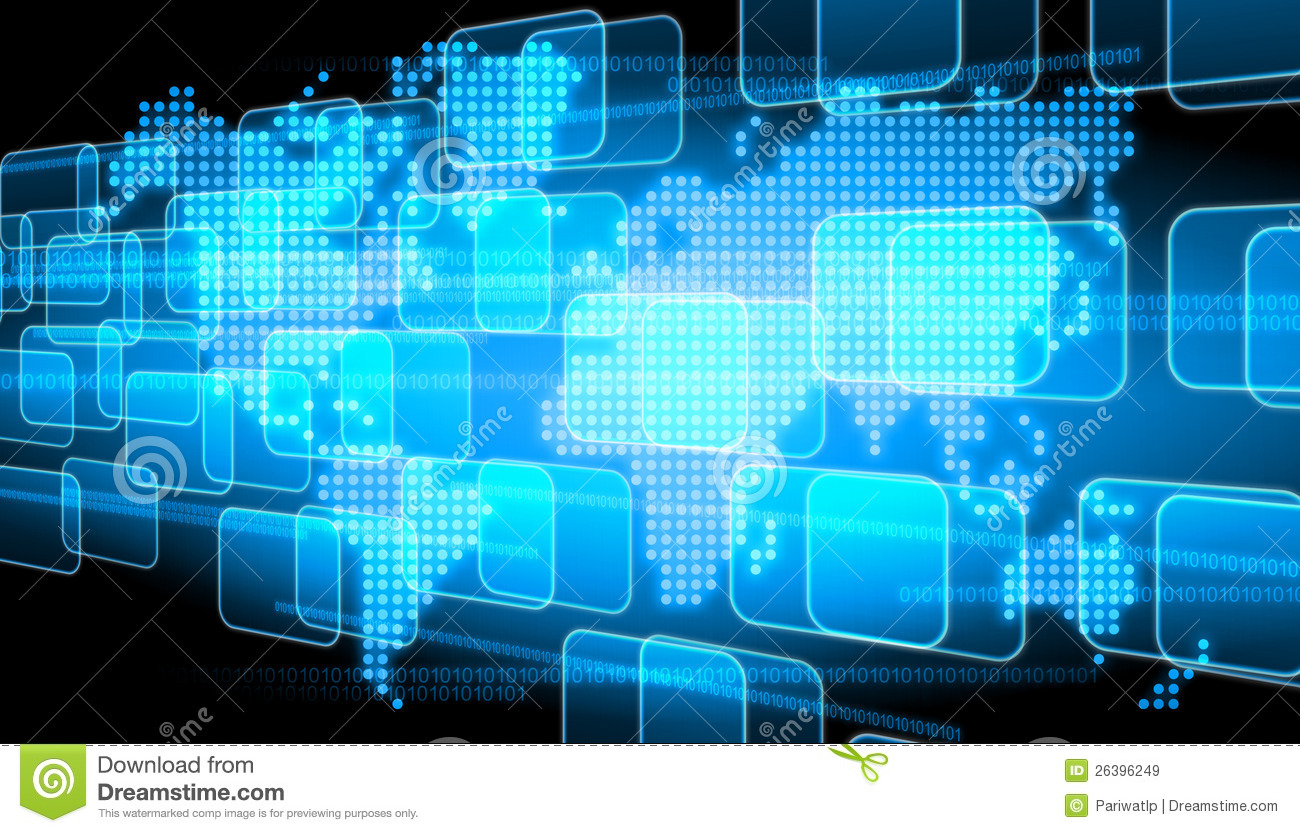 Technology Background Royalty Free Stock Images  Image: 26396249