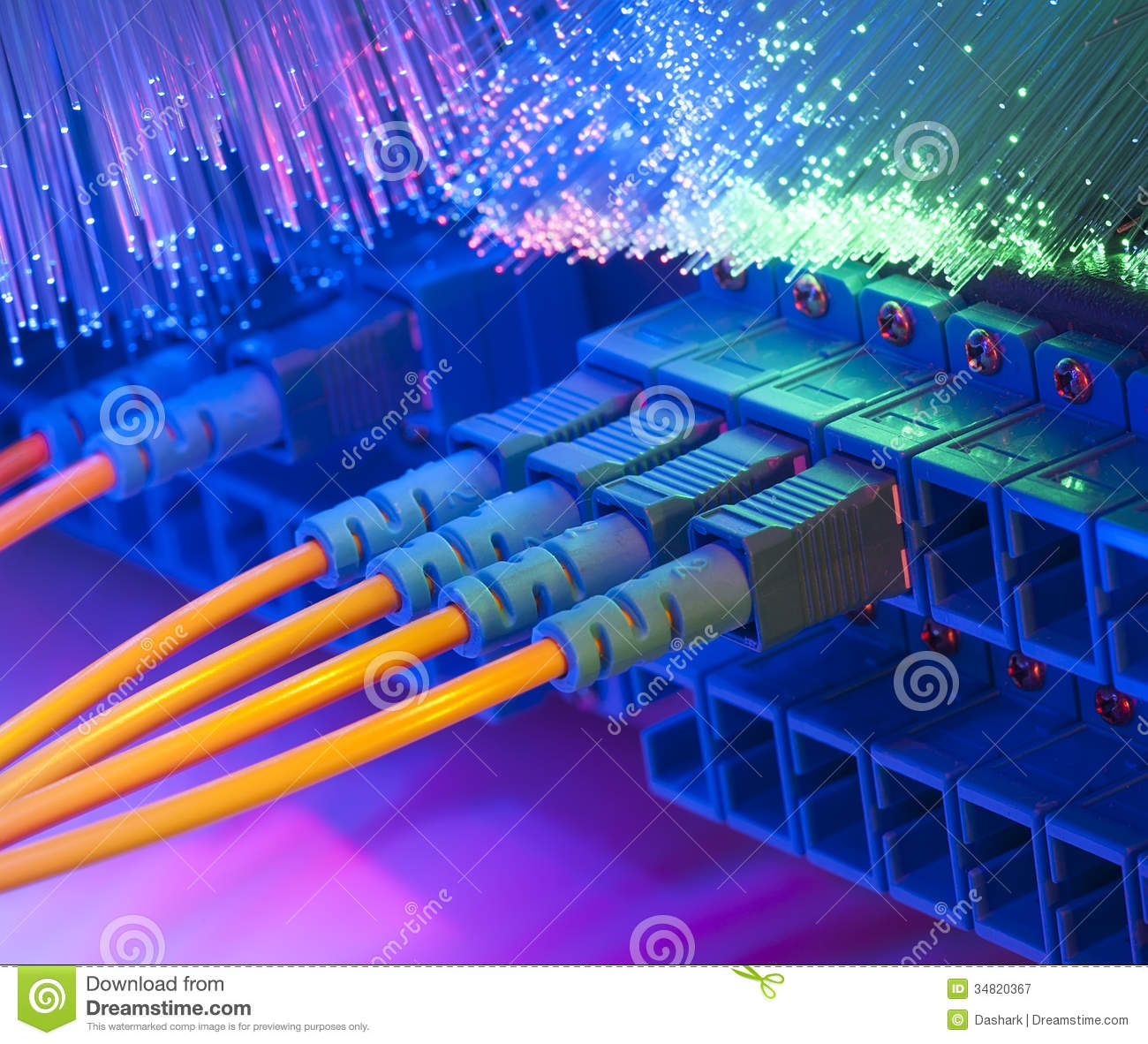 Technology Center Royalty Free Stock Photography Image