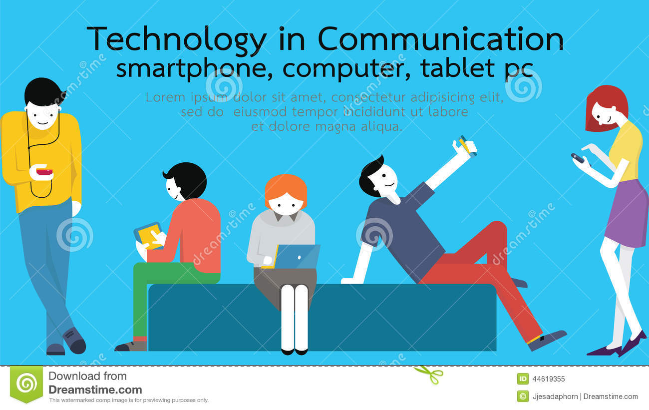 how new technologies affect the communication