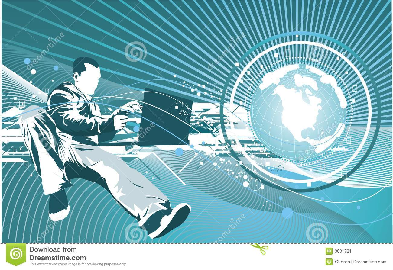 Technology Management Image: IT Technology Concept Stock Image