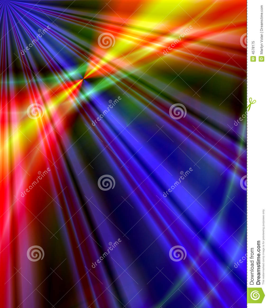 Abstract Green Laser Industry Royalty Free Stock Photo