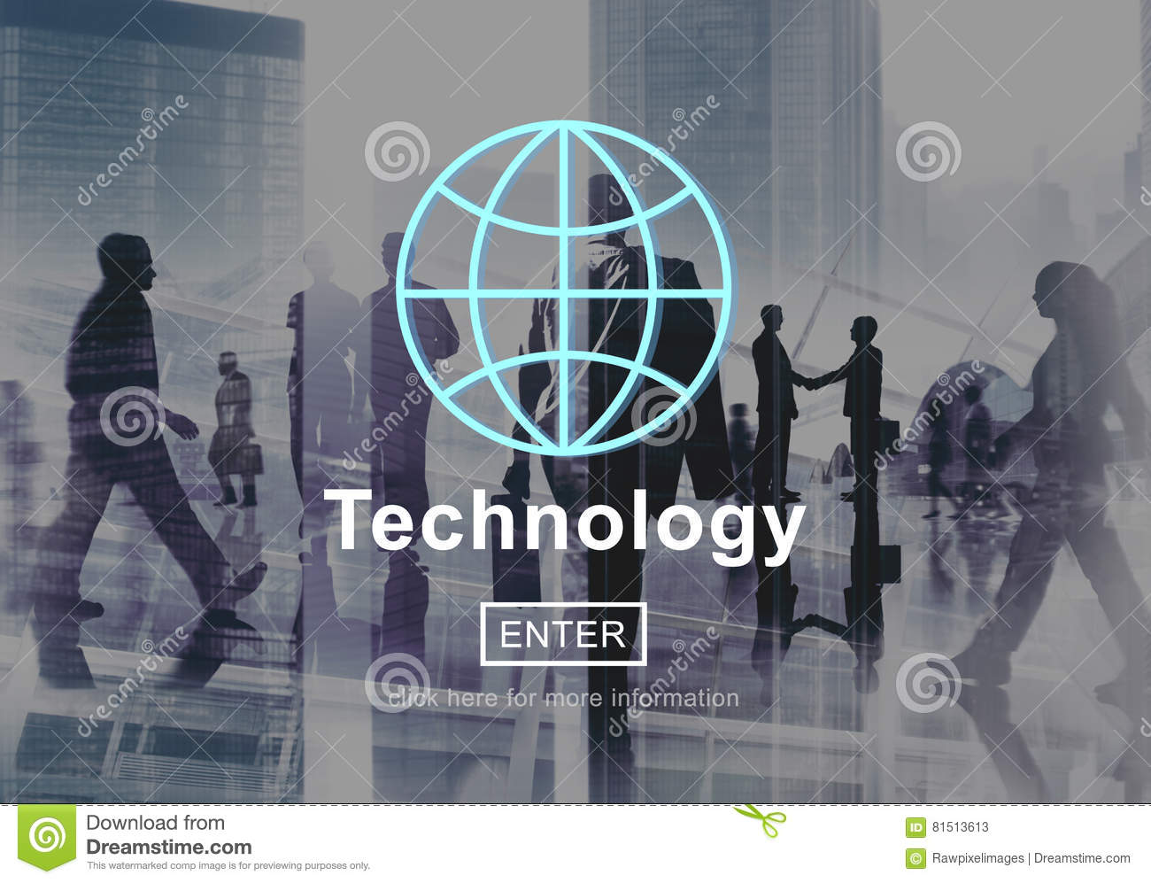 Technology Global Communication Homepage Connection Concept