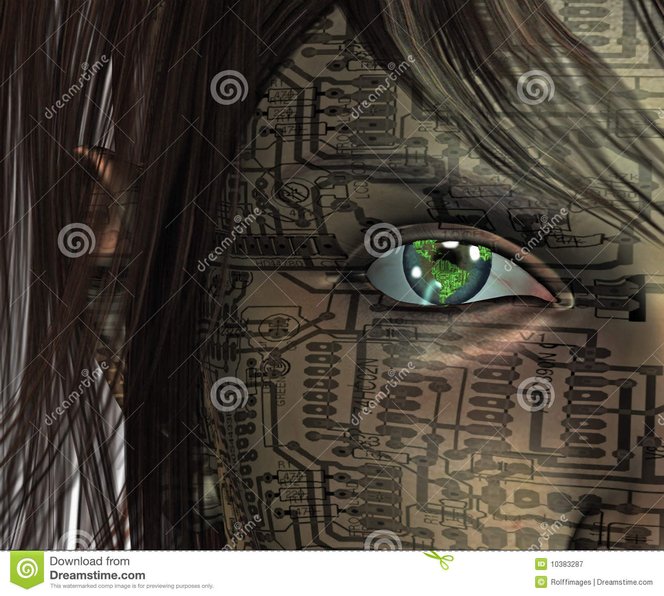 technology human royalty earth eye dreamstime preview