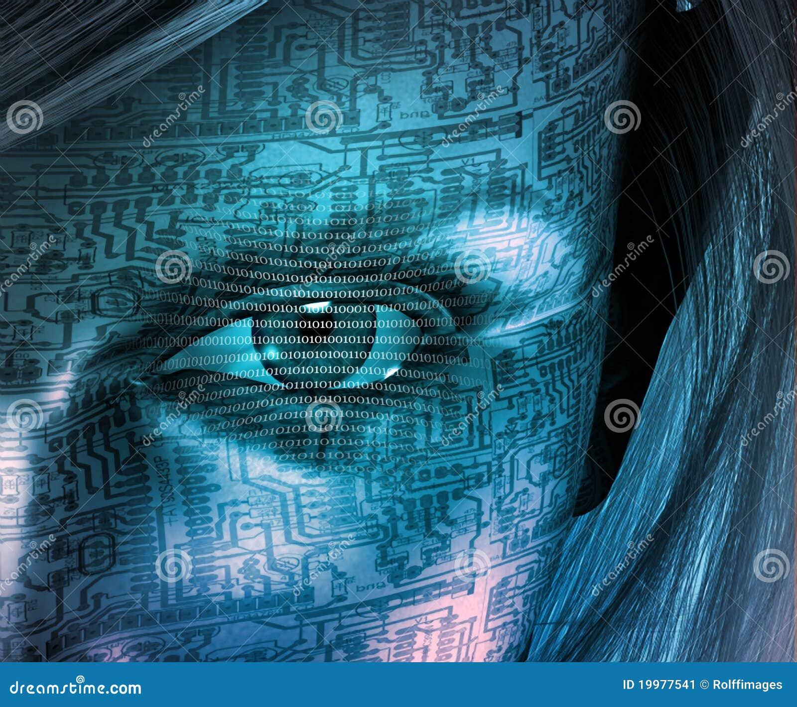 technology human illustration 3d preview dreamstime