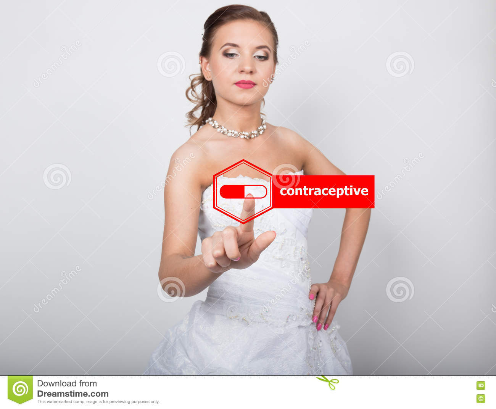 Virtual Fashion Set Interview Stock Photography