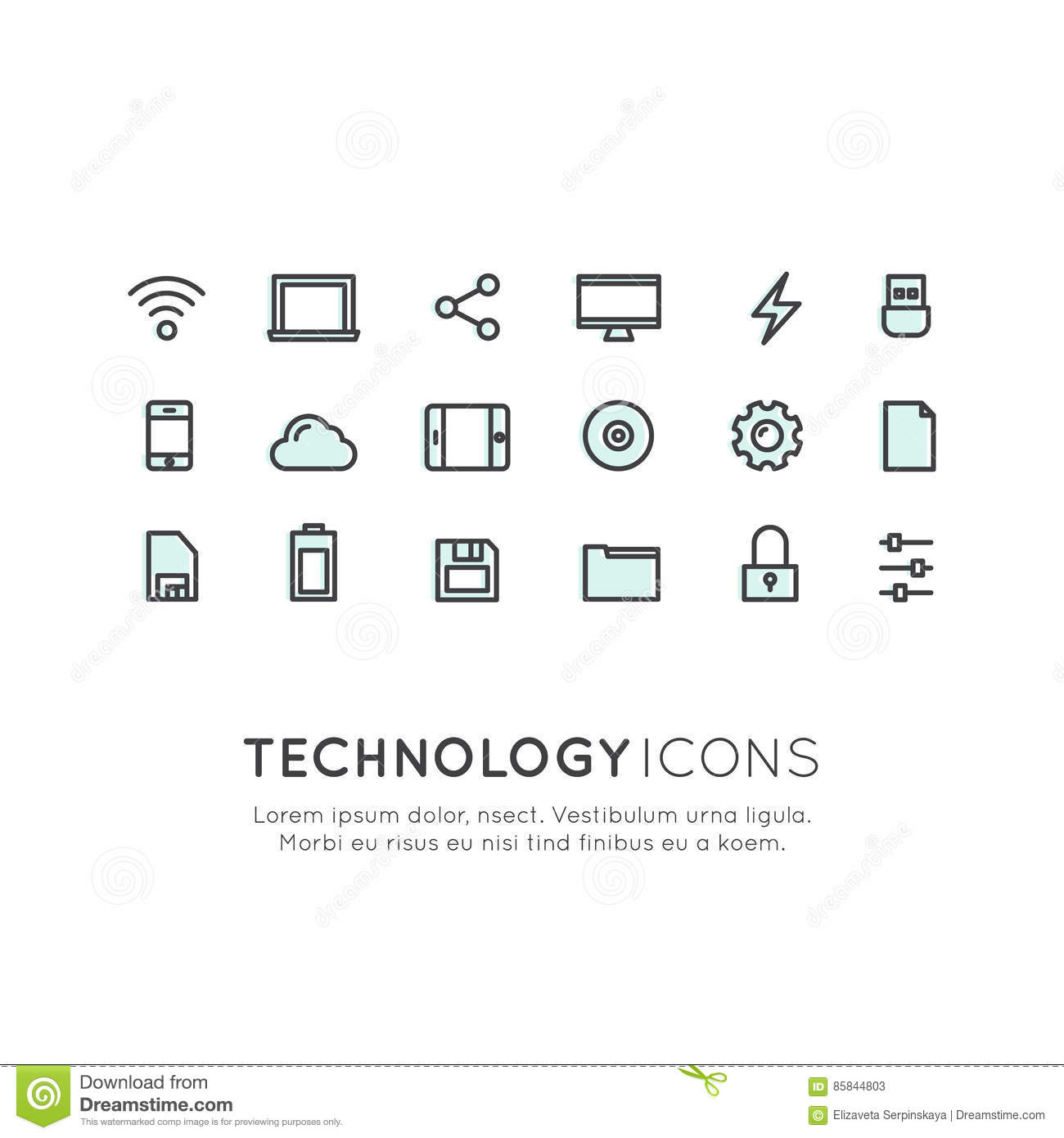 Technology mobile and internet tools devices network management technology mobile and internet tools devices network management networking and cloud computing web symbols biocorpaavc