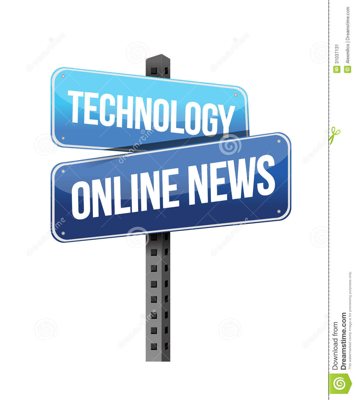 technology sign road illustration background preview