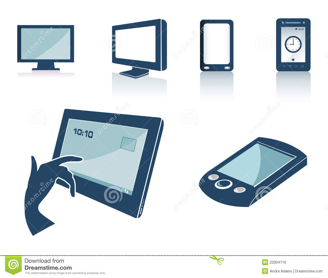 Technology Silhouettes Royalty Free Stock Image - Image ...  Technology Silh...