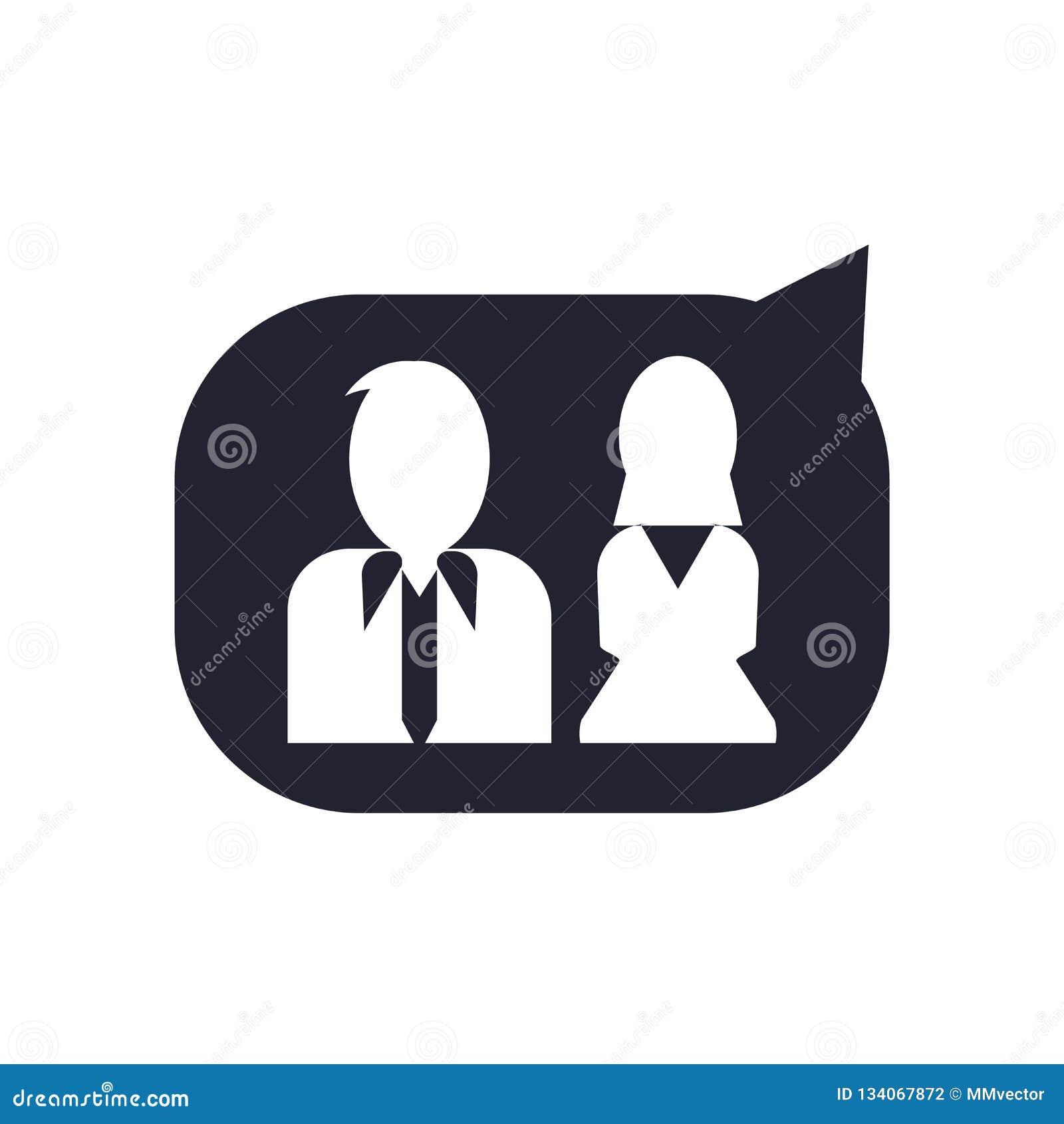 Tecken och symbol för användaresymbolsvektor som isoleras på vit bakgrund, användarelogobegrepp