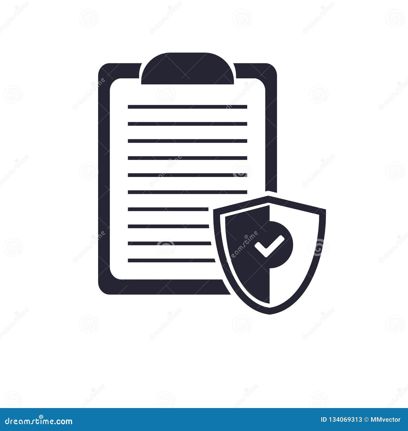 Tecken och symbol för Notepadsymbolsvektor som isoleras på vit bakgrund, Notepadlogobegrepp