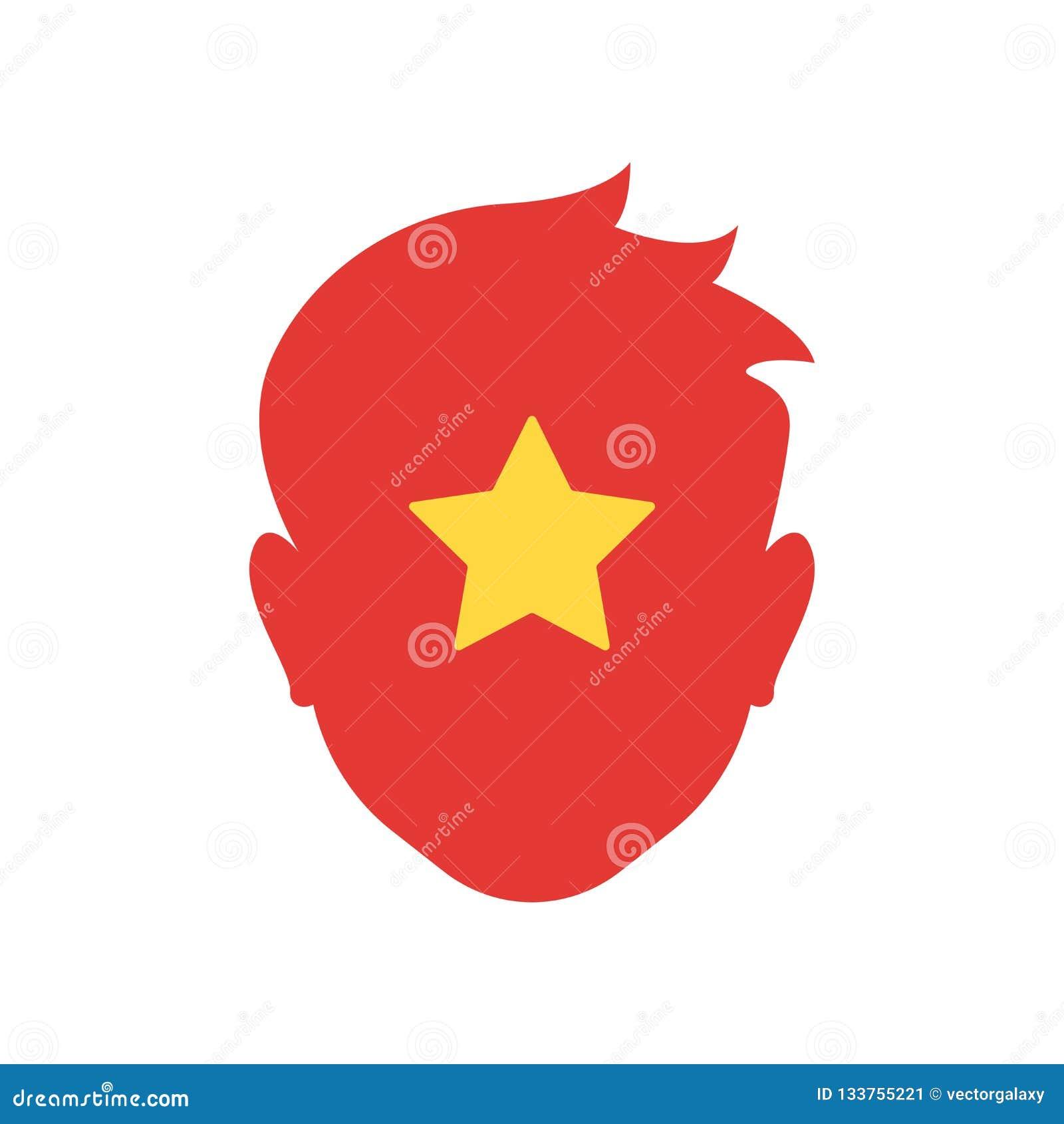 Tecken och symbol för Vietnam symbolsvektor som isoleras på vit bakgrund