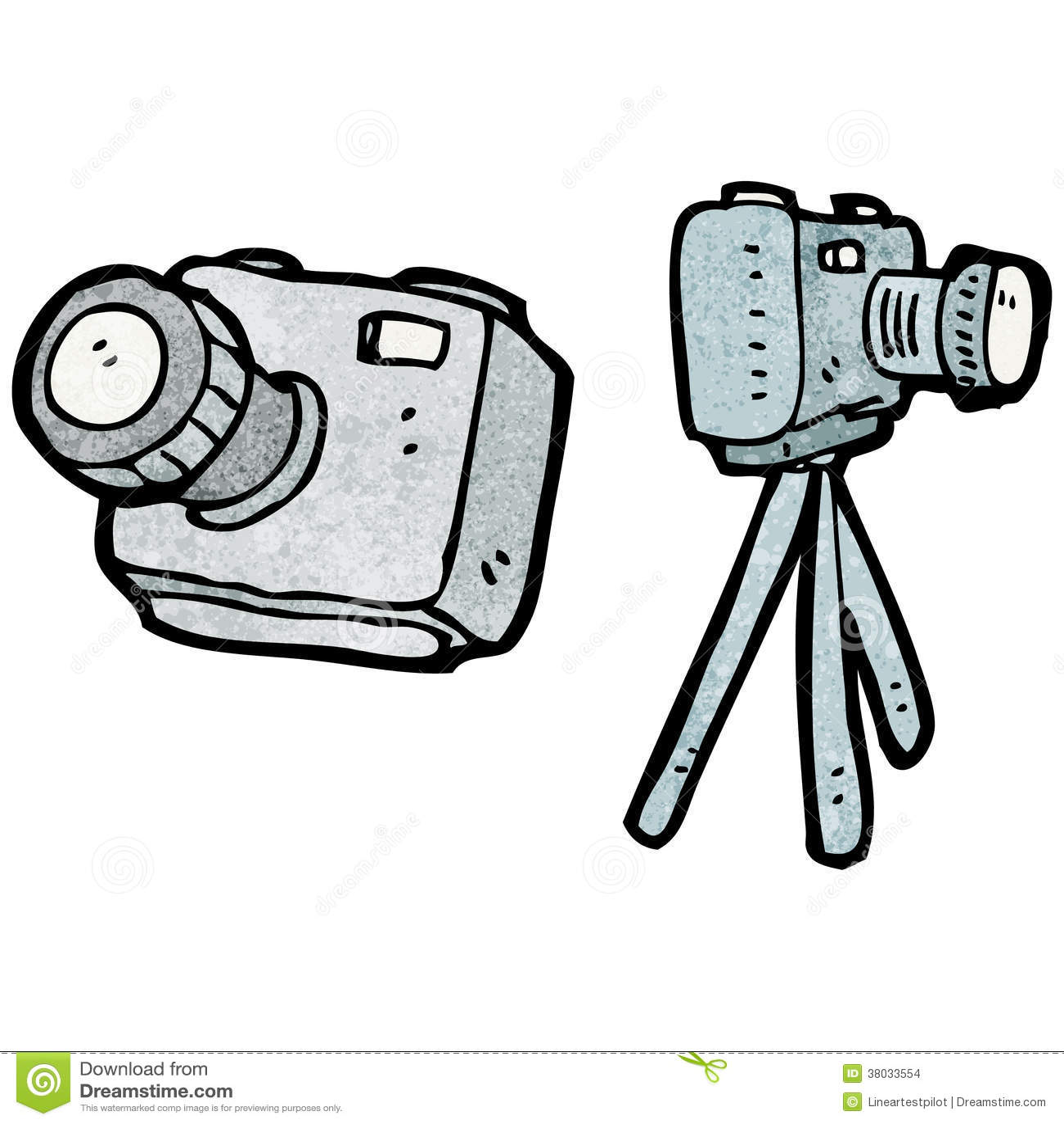 tecknad filmkamera vektor illustrationer bild av texturerat 38033554. Black Bedroom Furniture Sets. Home Design Ideas