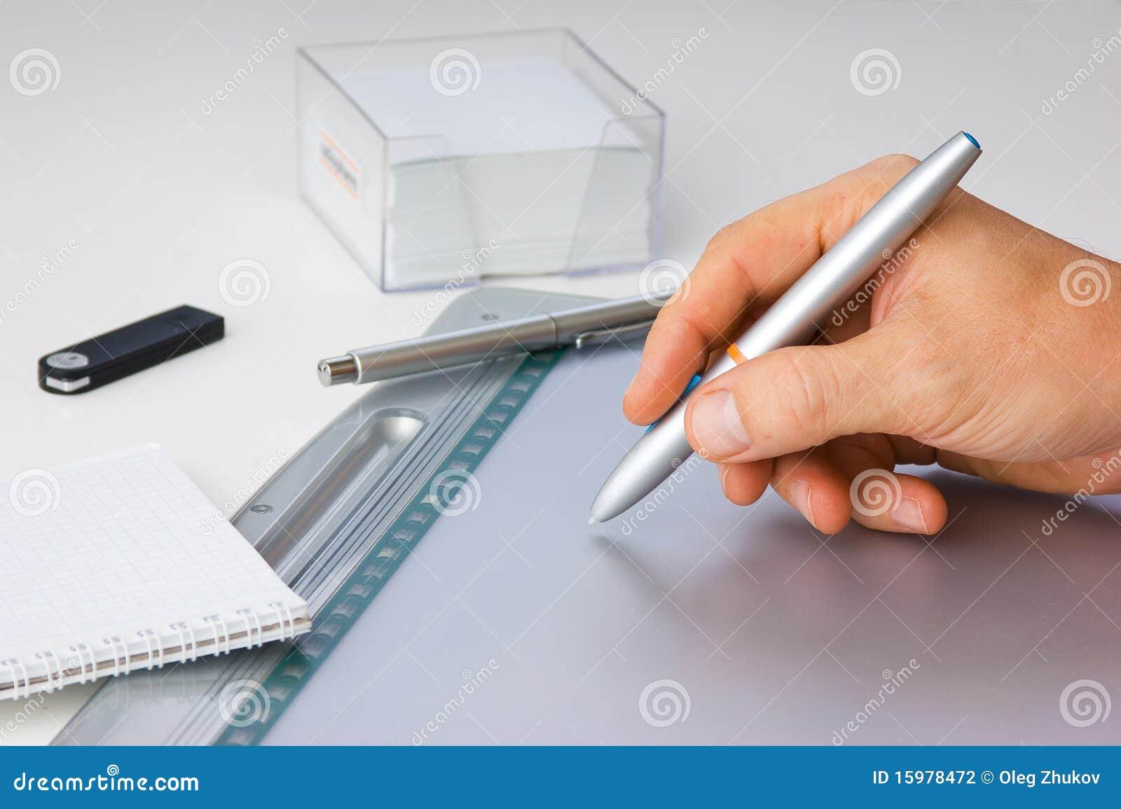 Tecknar handtableten